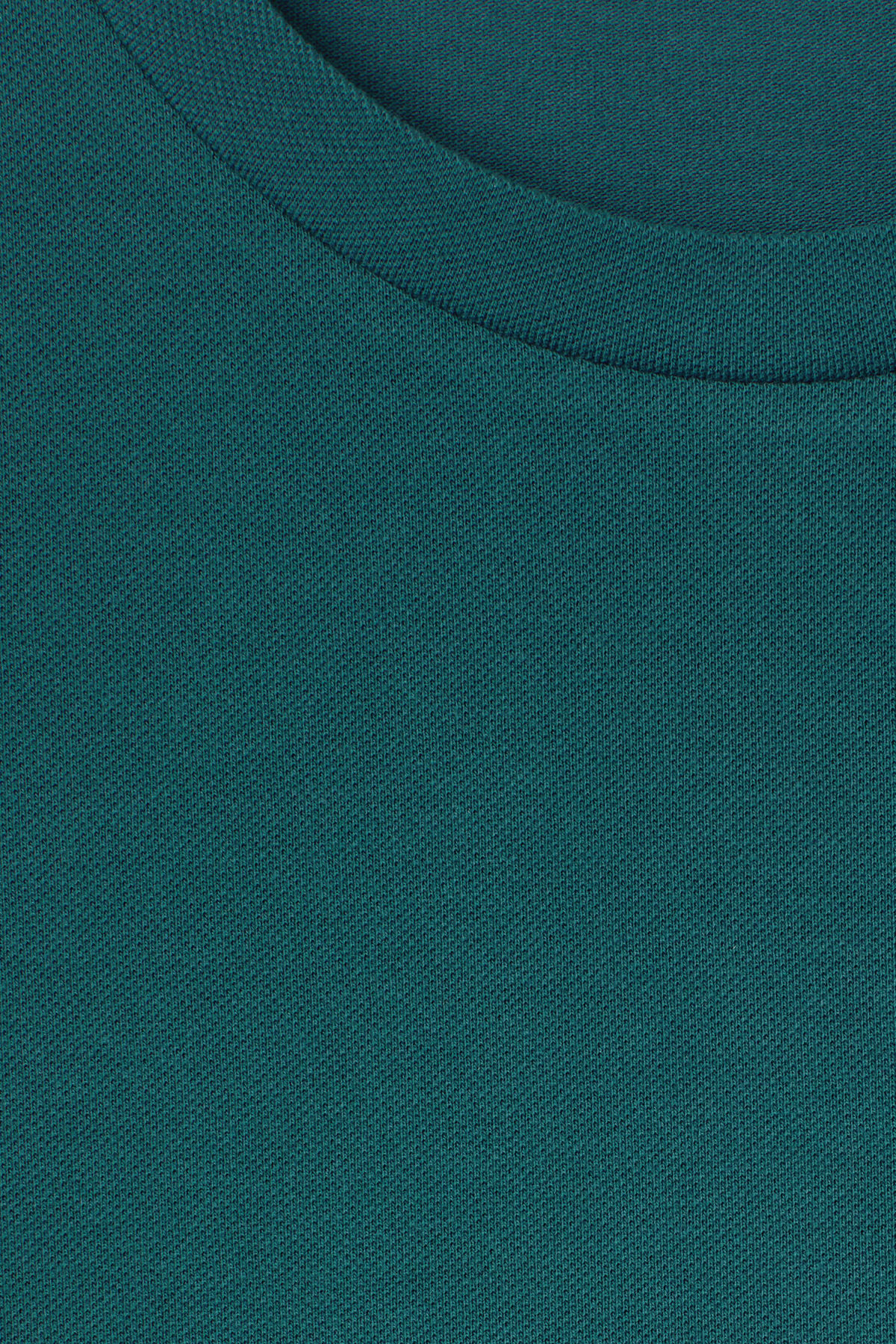 Detailed image of Weekday tennis t-shirt in turquoise
