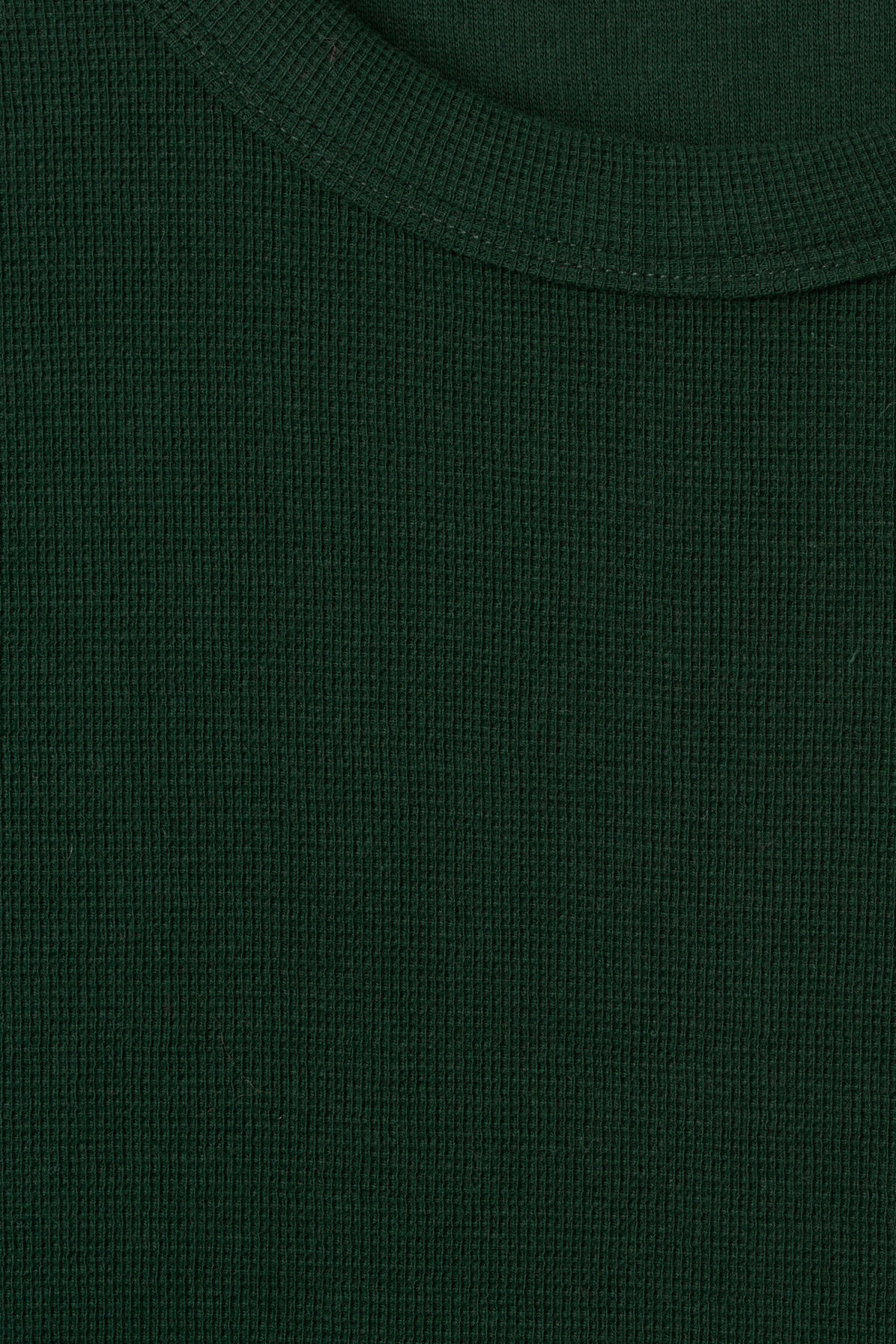 Detailed image of Weekday grinko t-shirt in green
