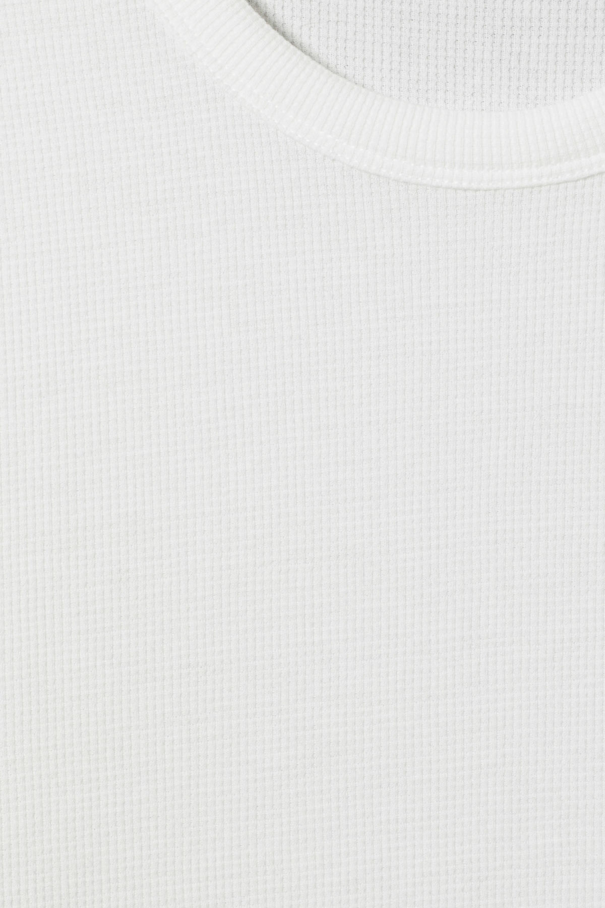 Detailed image of Weekday grinko t-shirt in white