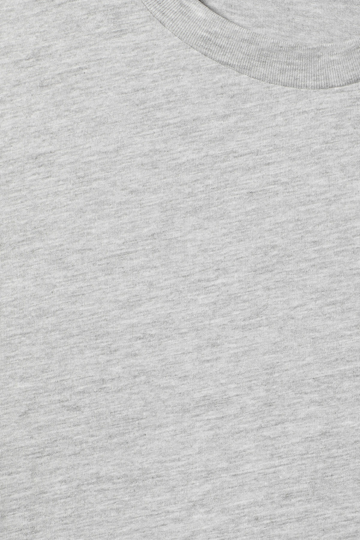 Detailed image of Weekday alan t-shirt in grey