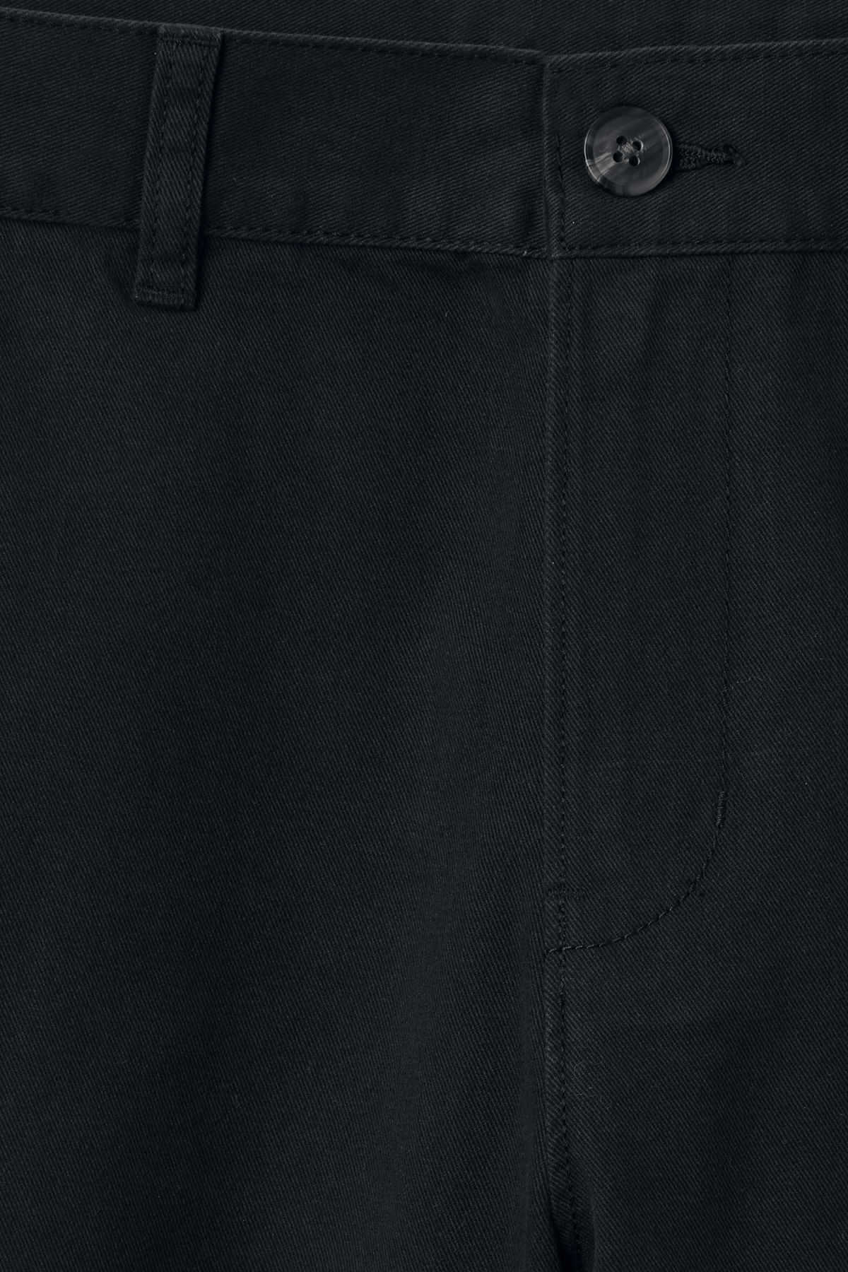 Detailed image of Weekday acid shorts in black