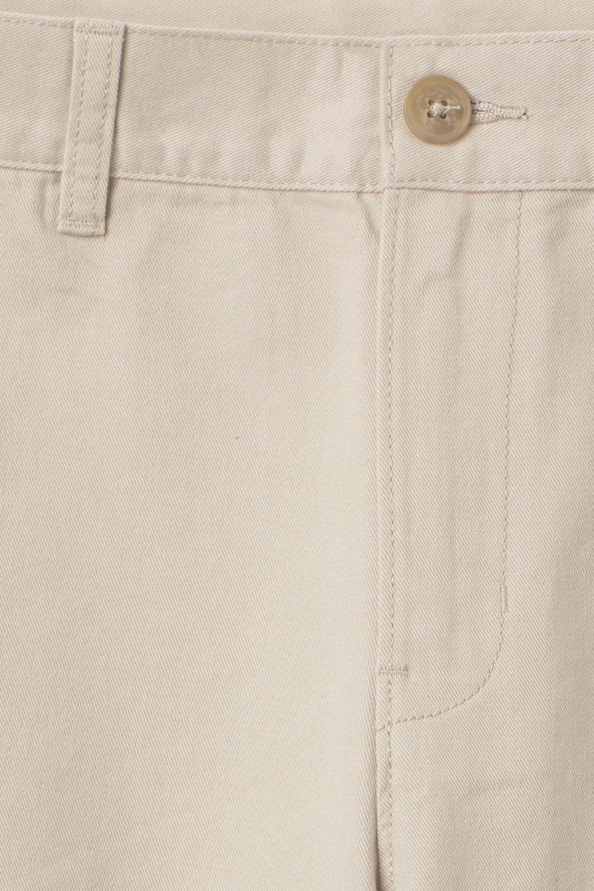 Detailed image of Weekday acid shorts in beige