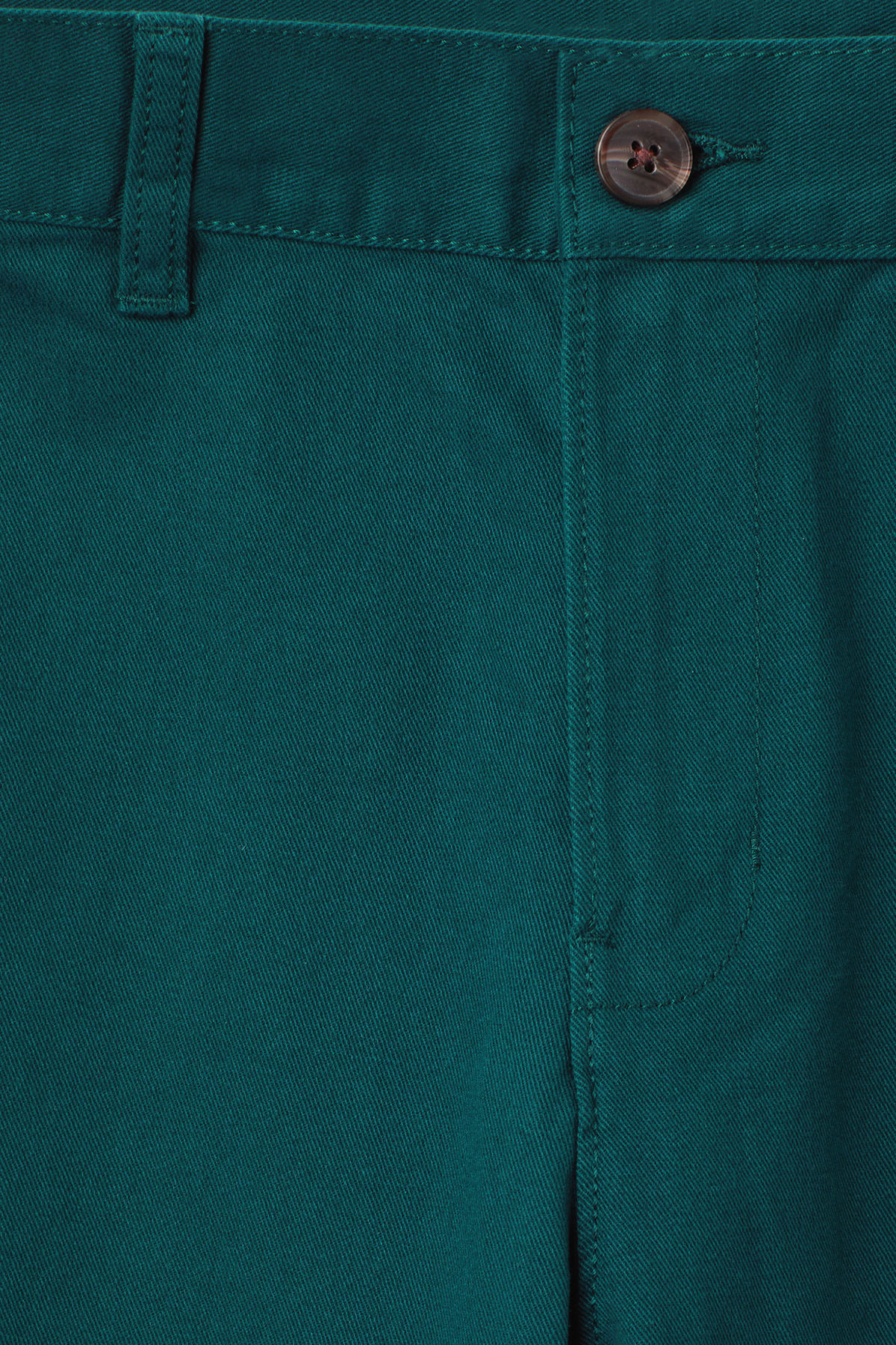 Detailed image of Weekday acid shorts in turquoise