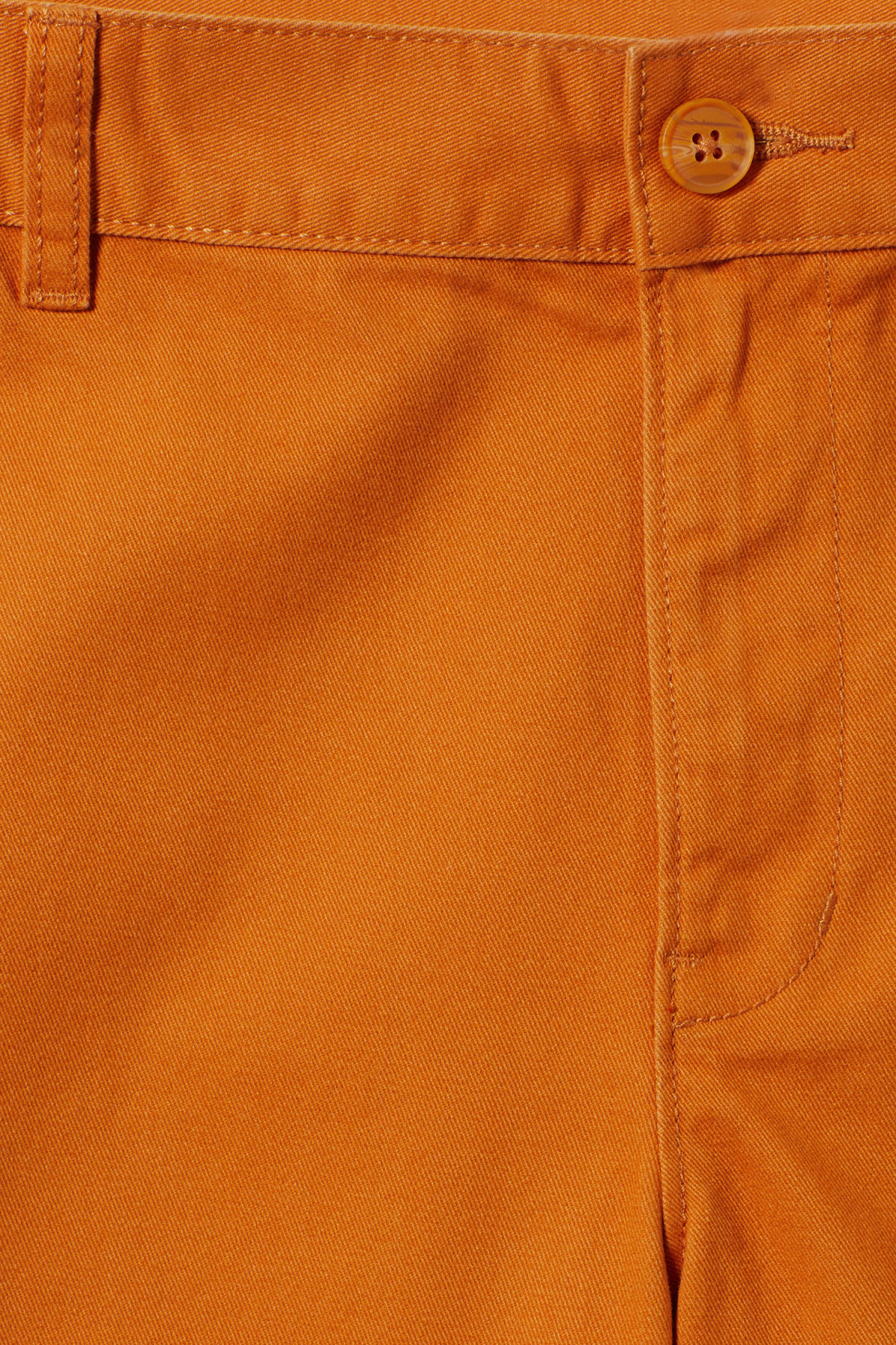 Detailed image of Weekday acid shorts in orange