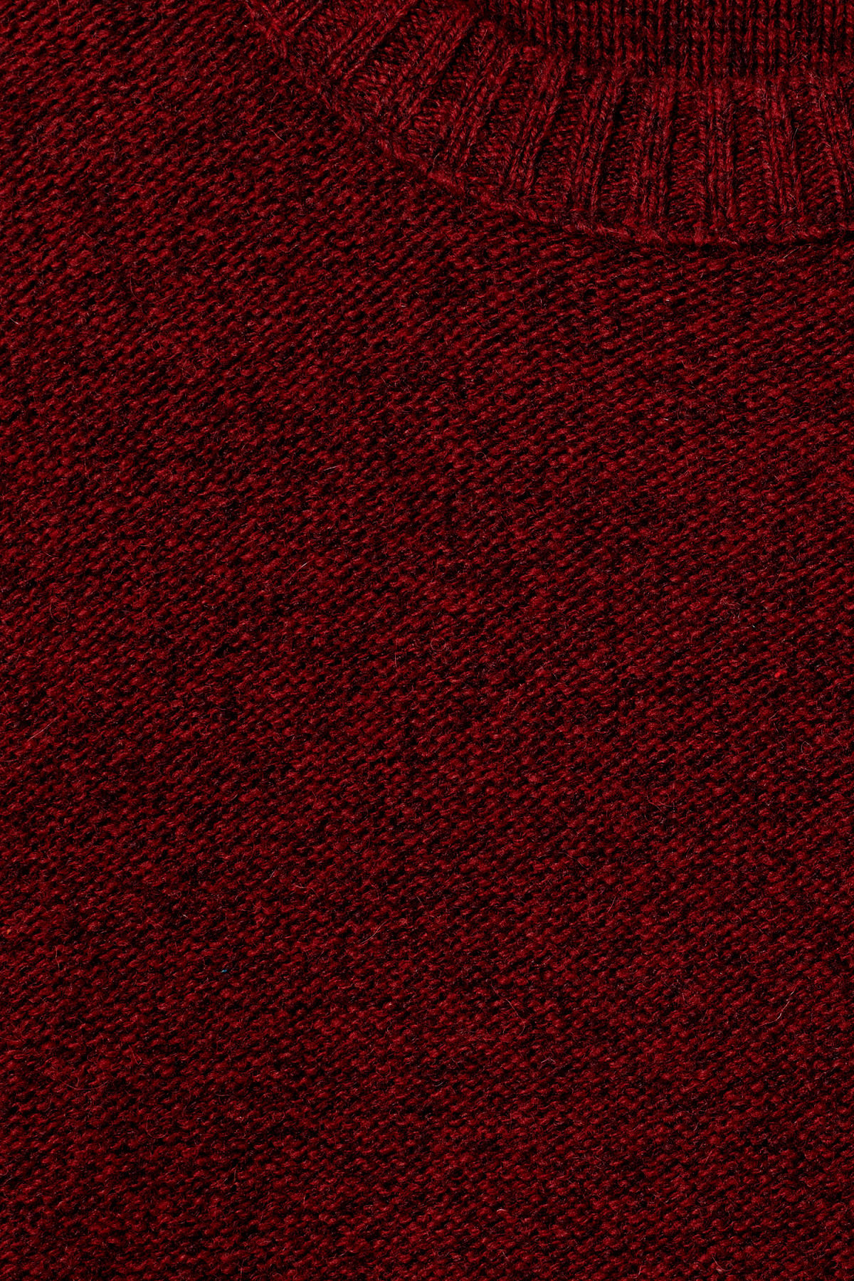 Detailed image of Weekday knit sweater  in red