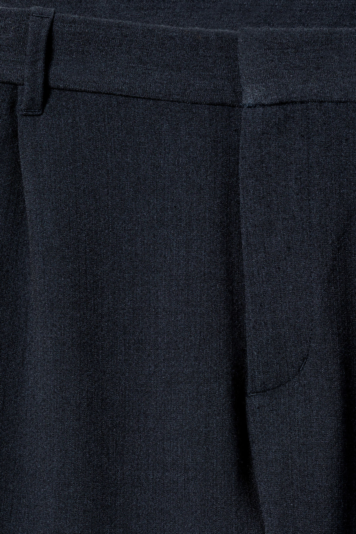 Detailed image of Weekday mard trousers in blue