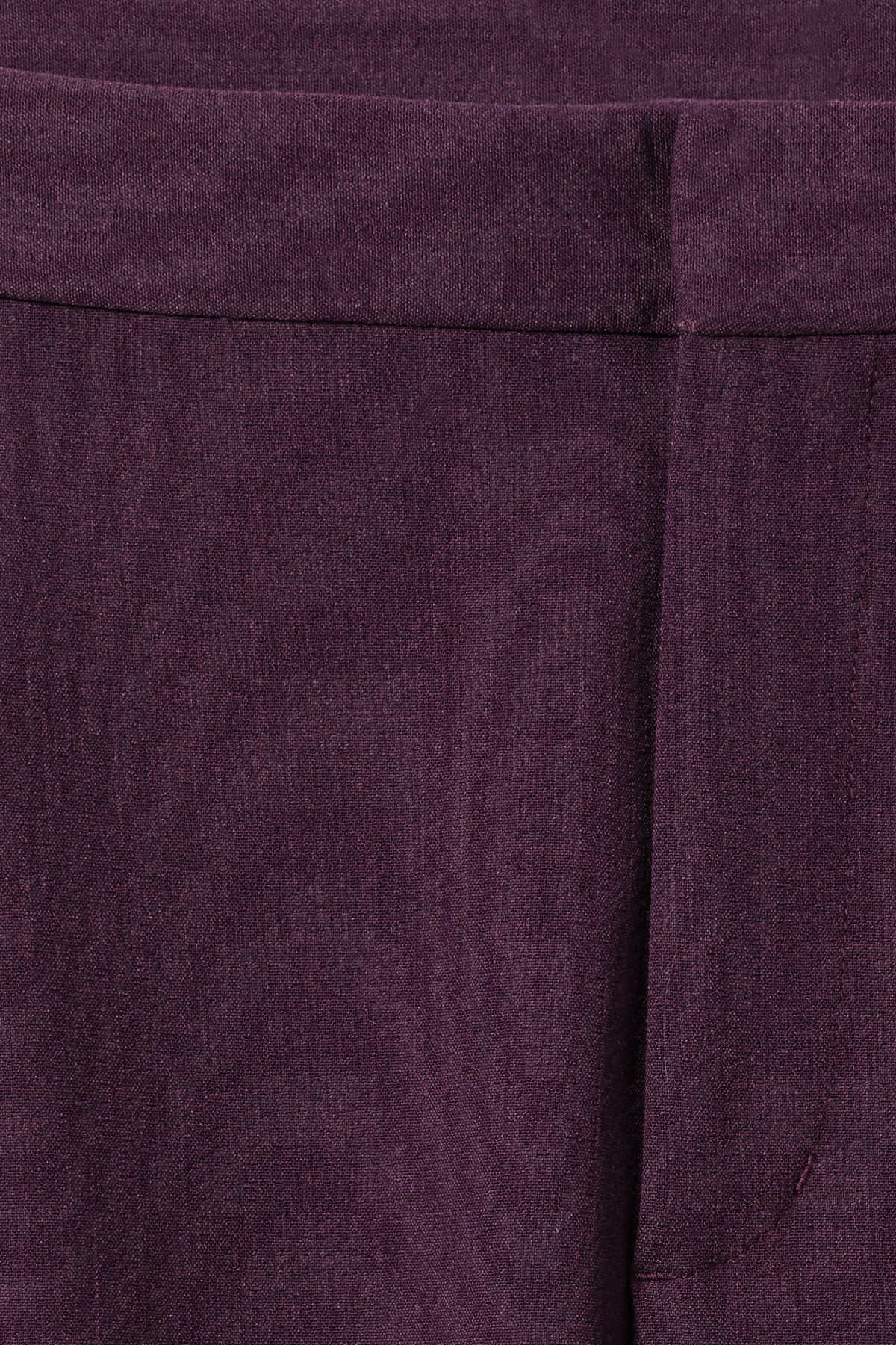 Detailed image of Weekday mard trousers in purple