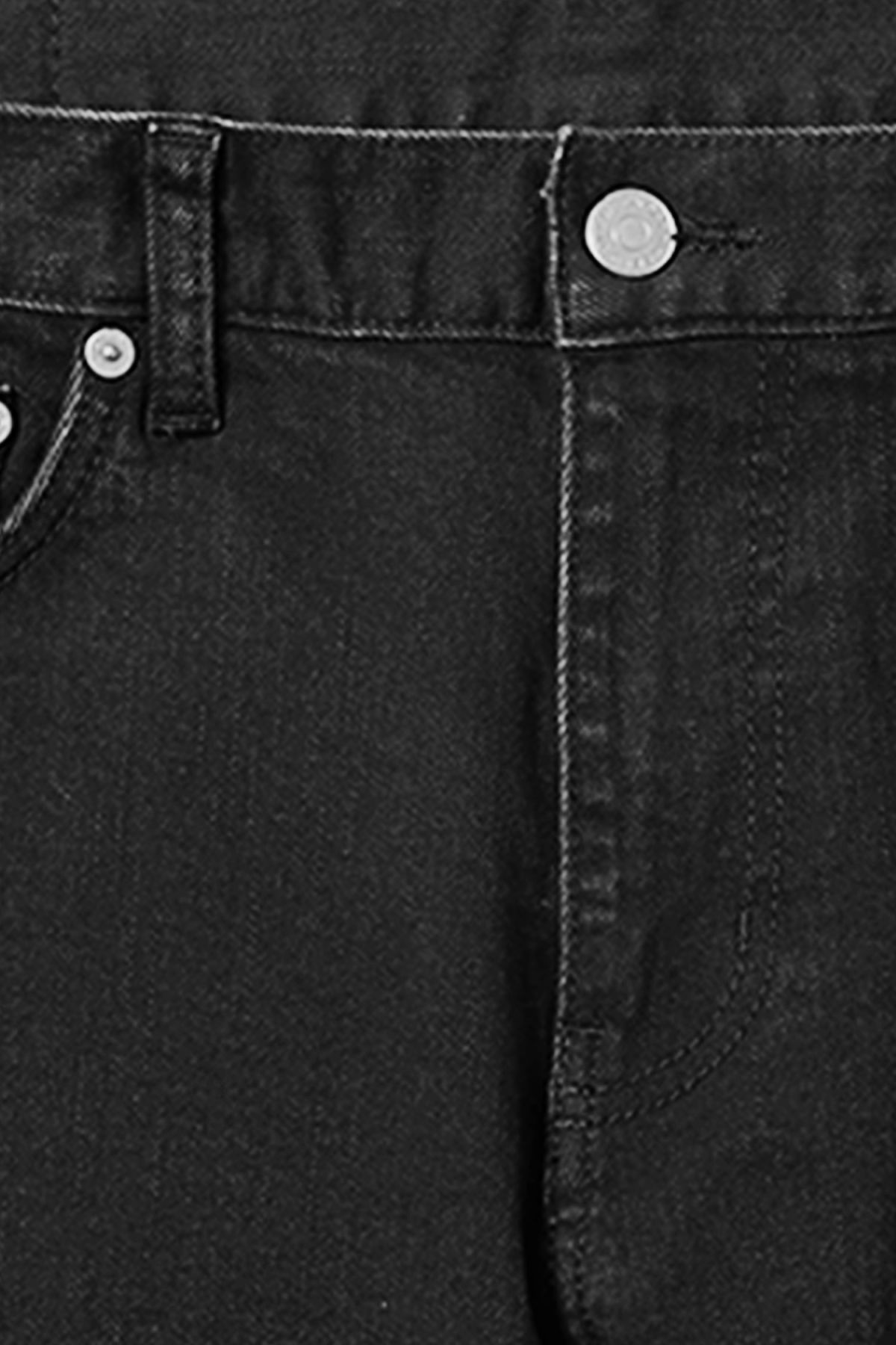 Detailed image of Weekday friday tuned black jeans in black