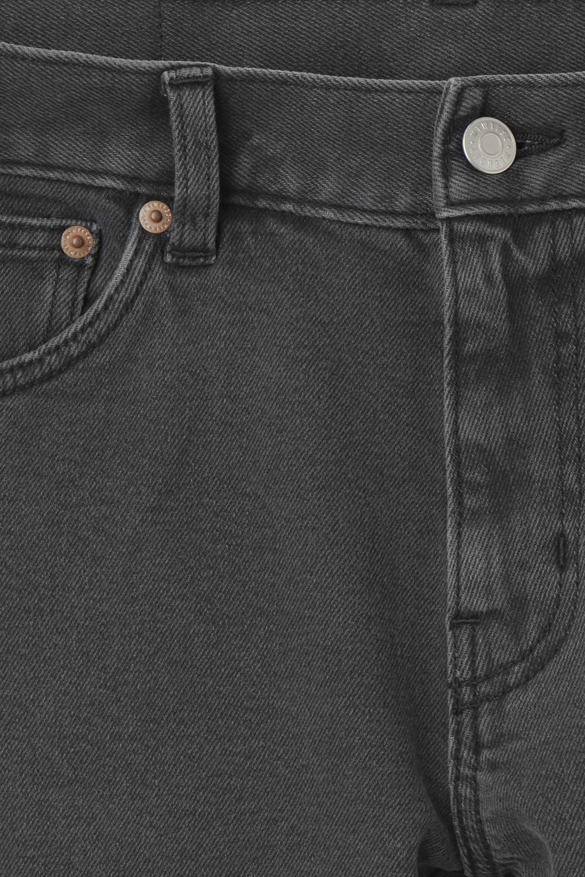Detailed image of Weekday friday black favor jeans in black