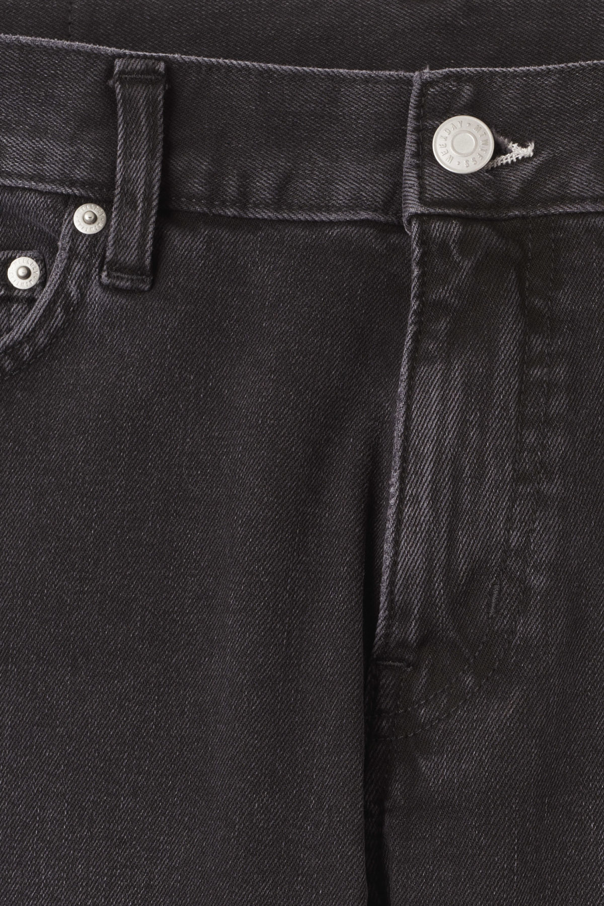 Detailed image of Weekday sunday great black jeans in grey