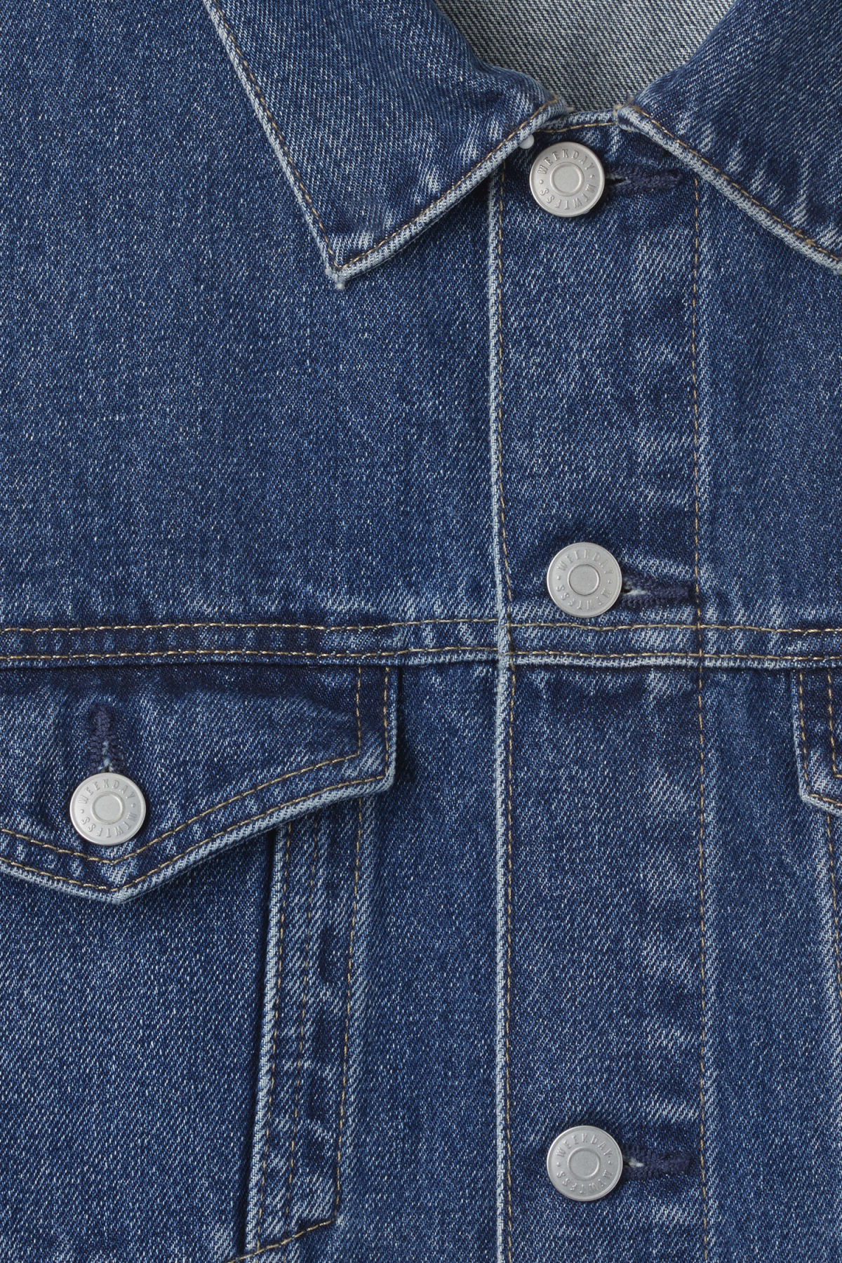 Detailed image of Weekday single jacket  in blue