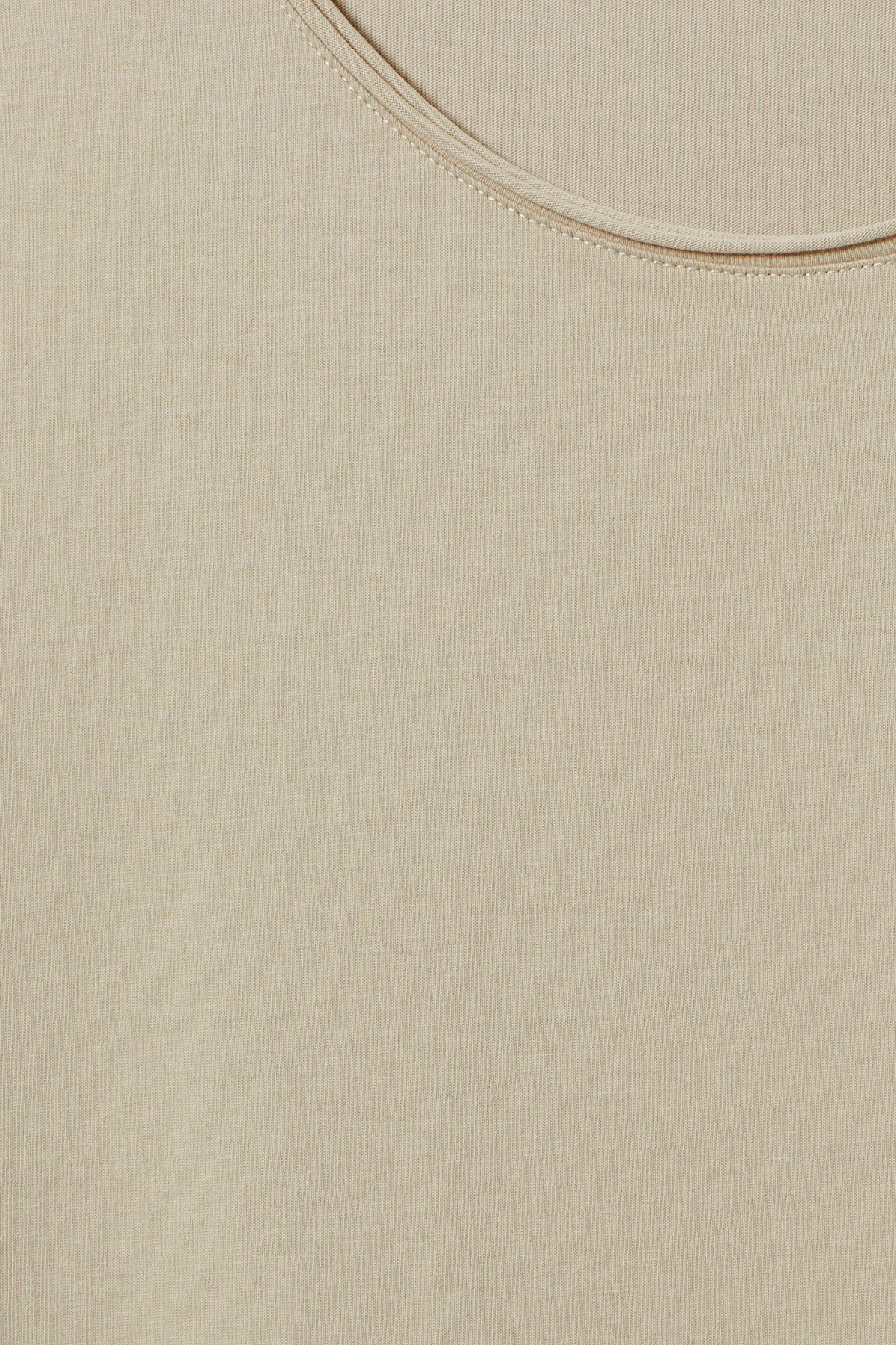 Detailed image of Weekday dark t-shirt in beige