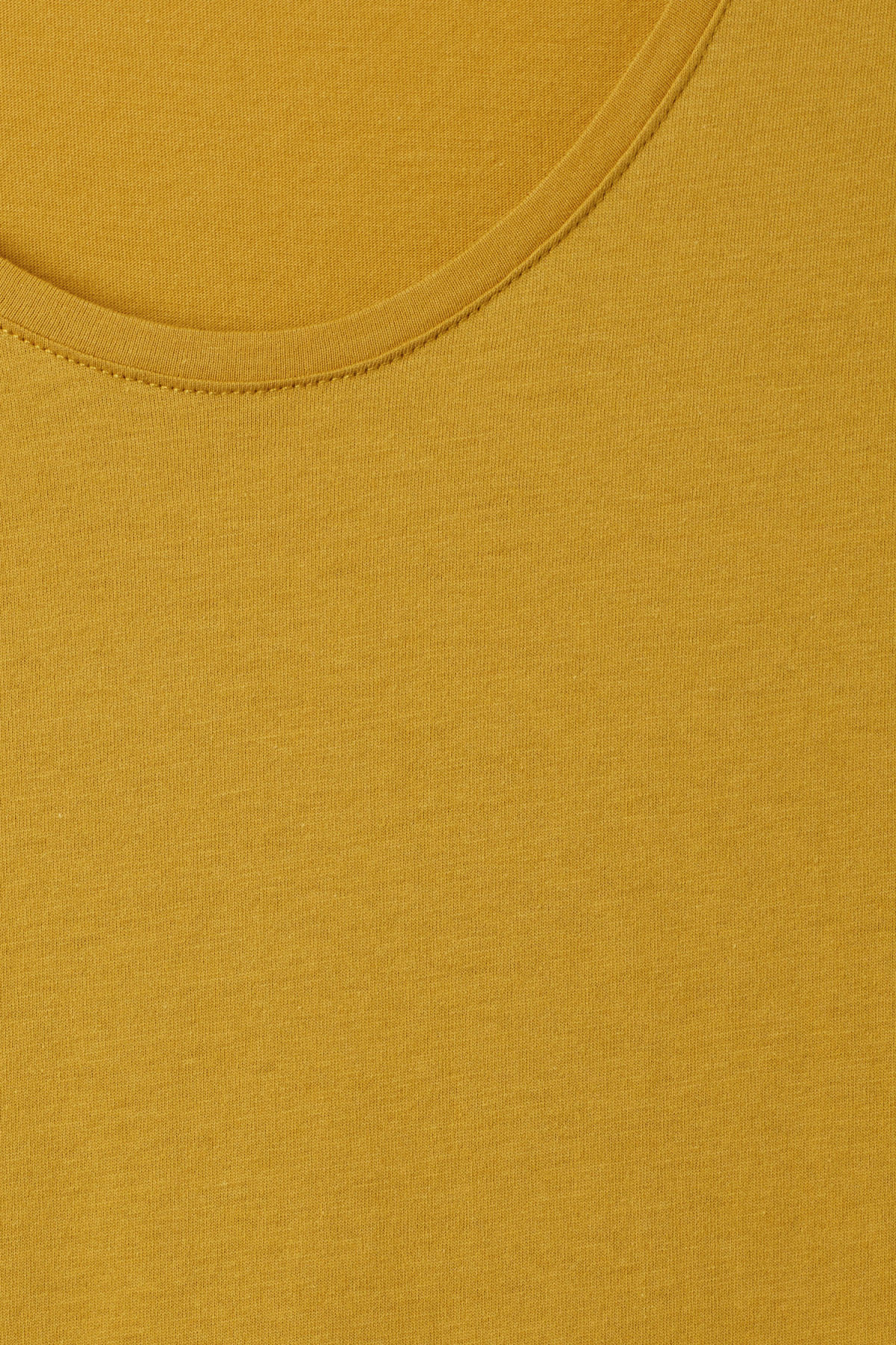 Detailed image of Weekday daniel t-shirt in yellow