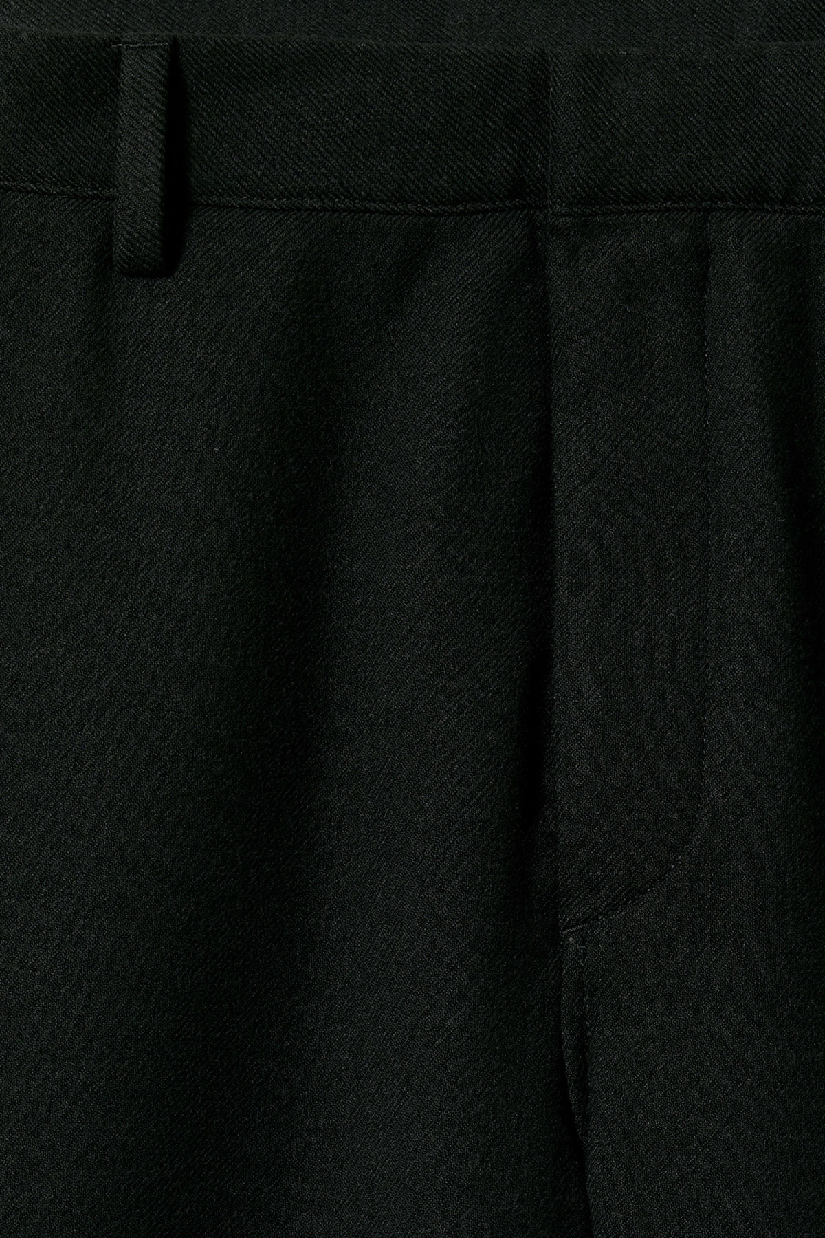 Detailed image of Weekday arvid trousers in black