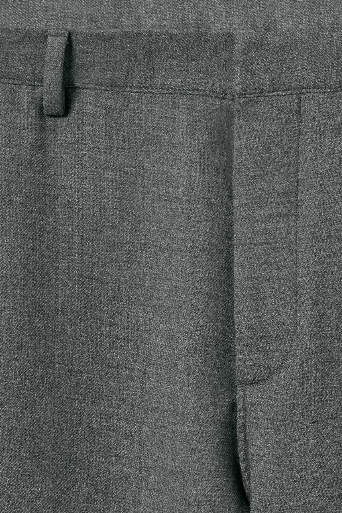 Detailed image of Weekday arvid trousers in grey