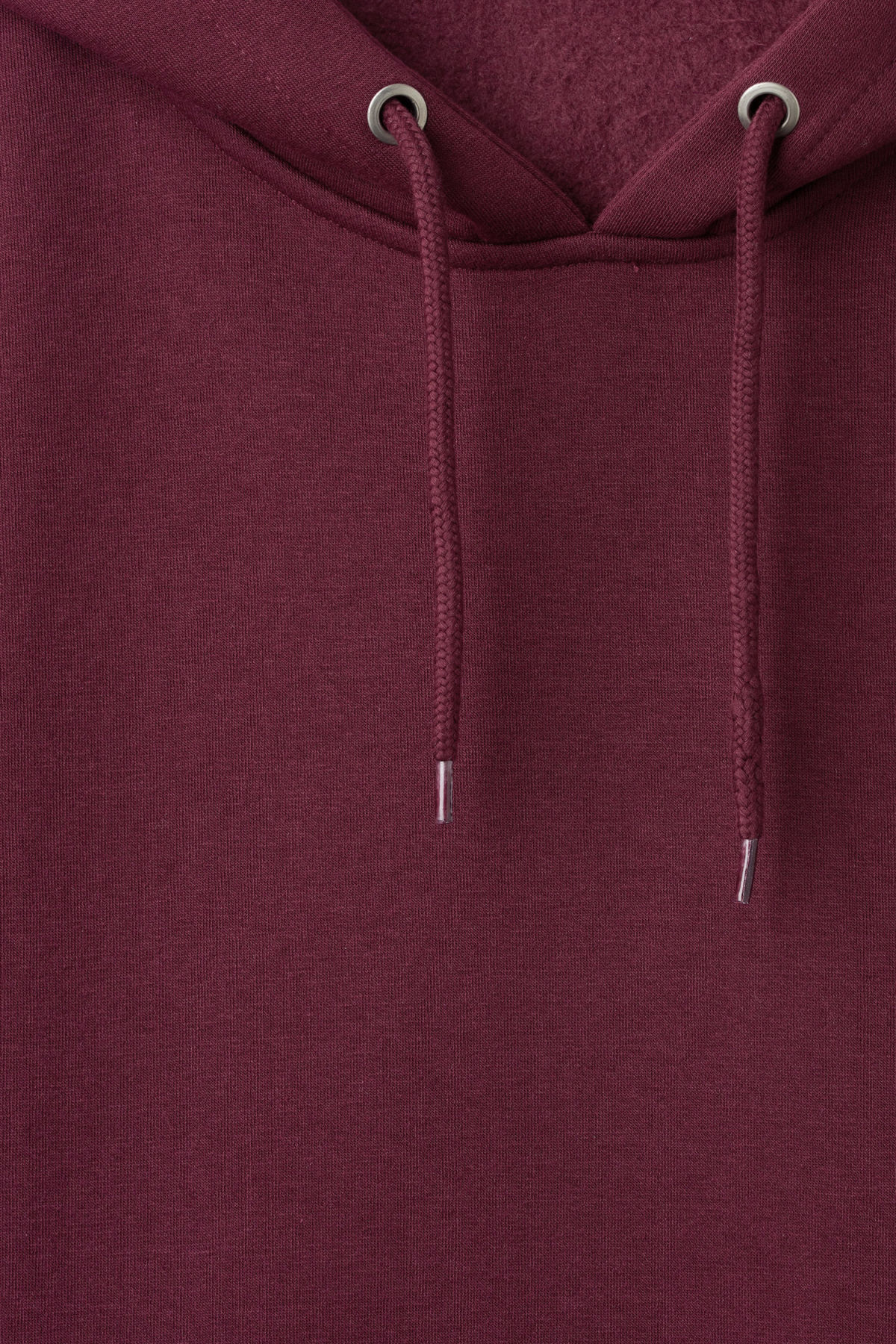 Detailed image of Weekday big hawk hoodie in red