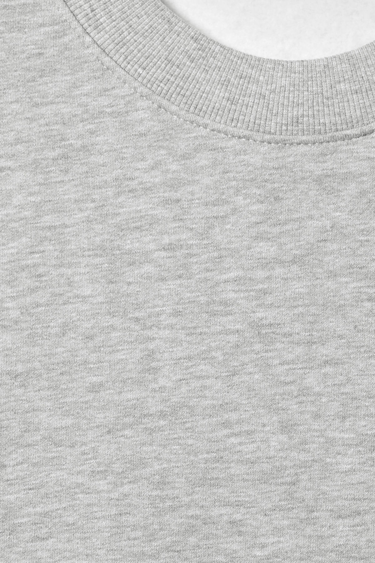 Detailed image of Weekday big steve sweatshirt in grey