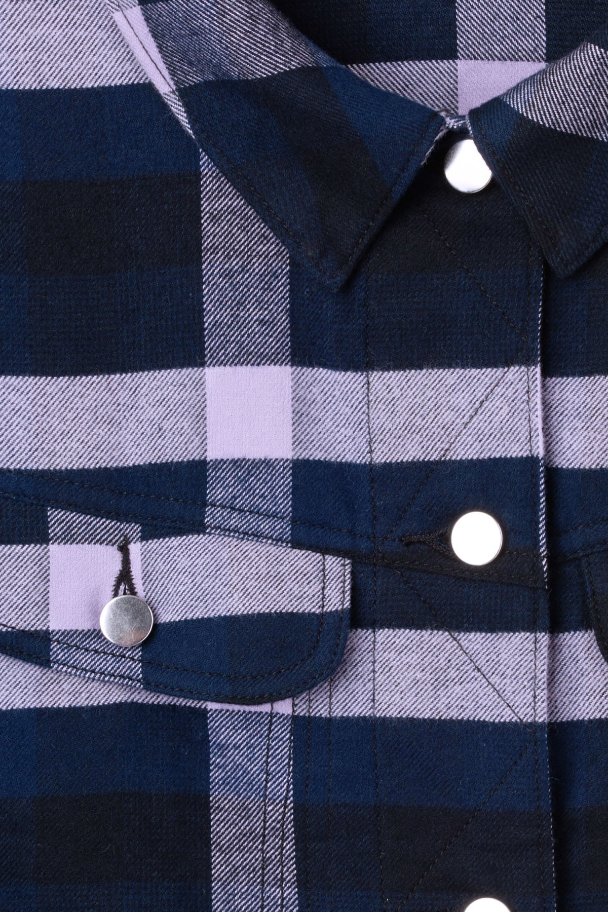 Detailed image of Weekday swinton shirt in purple