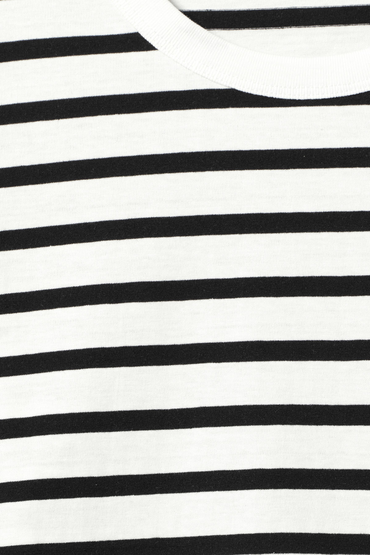 Detailed image of Weekday kate striped long sleeve in black