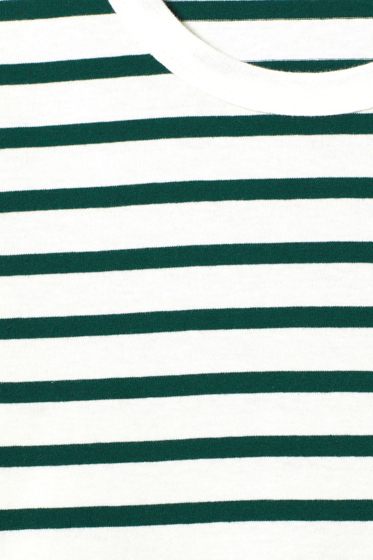 Detailed image of Weekday kate striped long sleeve in green