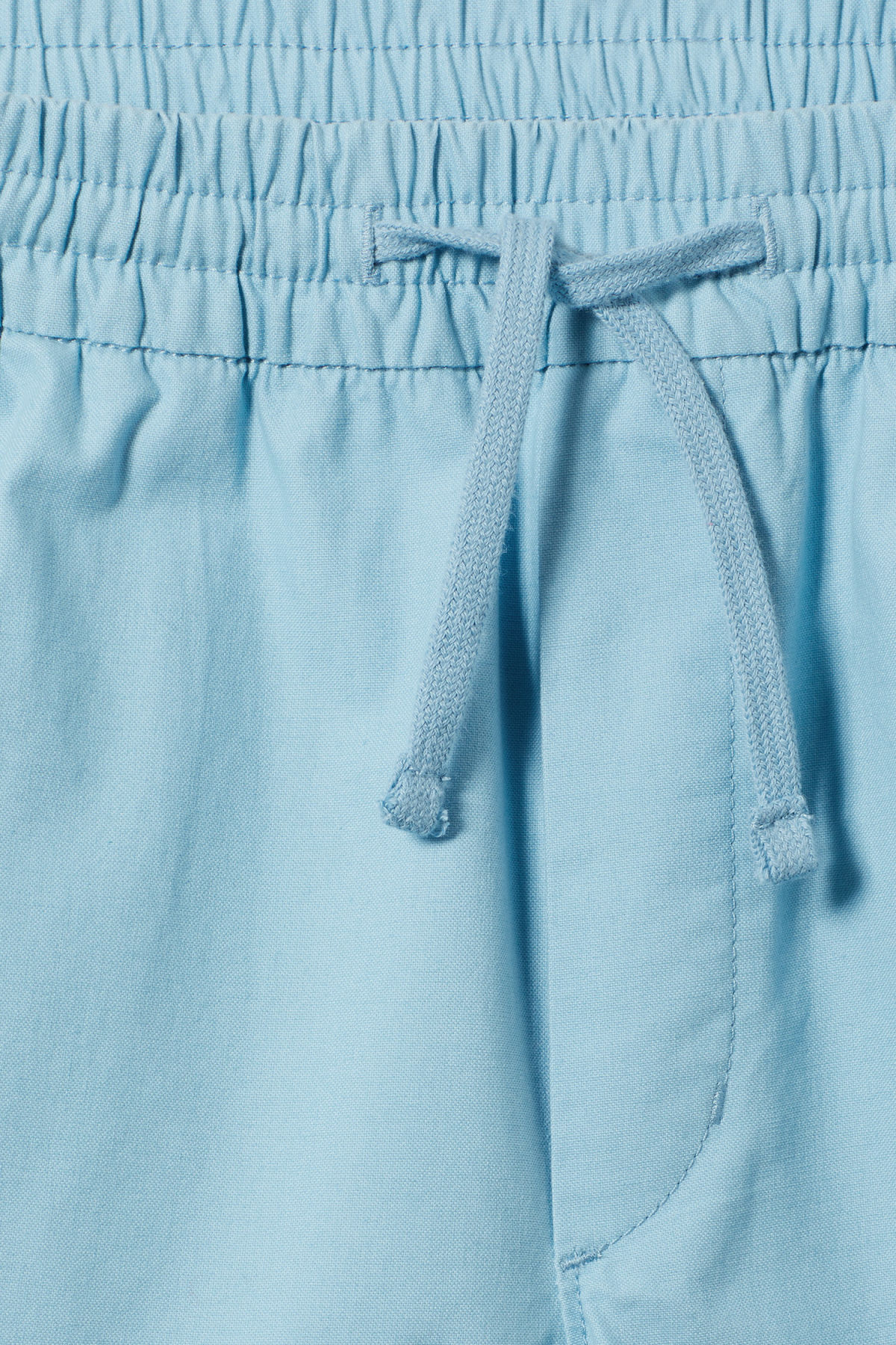 Detailed image of Weekday olsen shorts in blue
