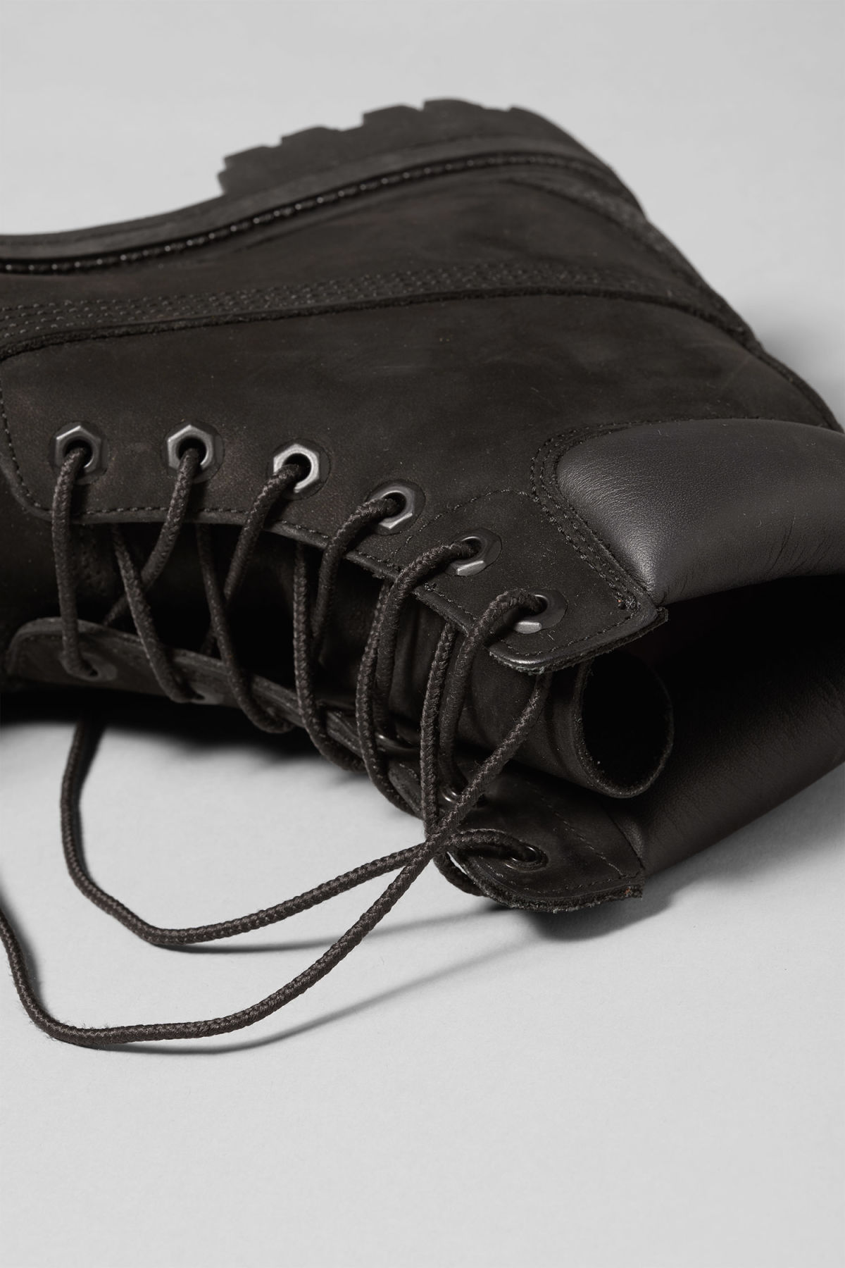 Detailed image of Weekday premium boots black in black