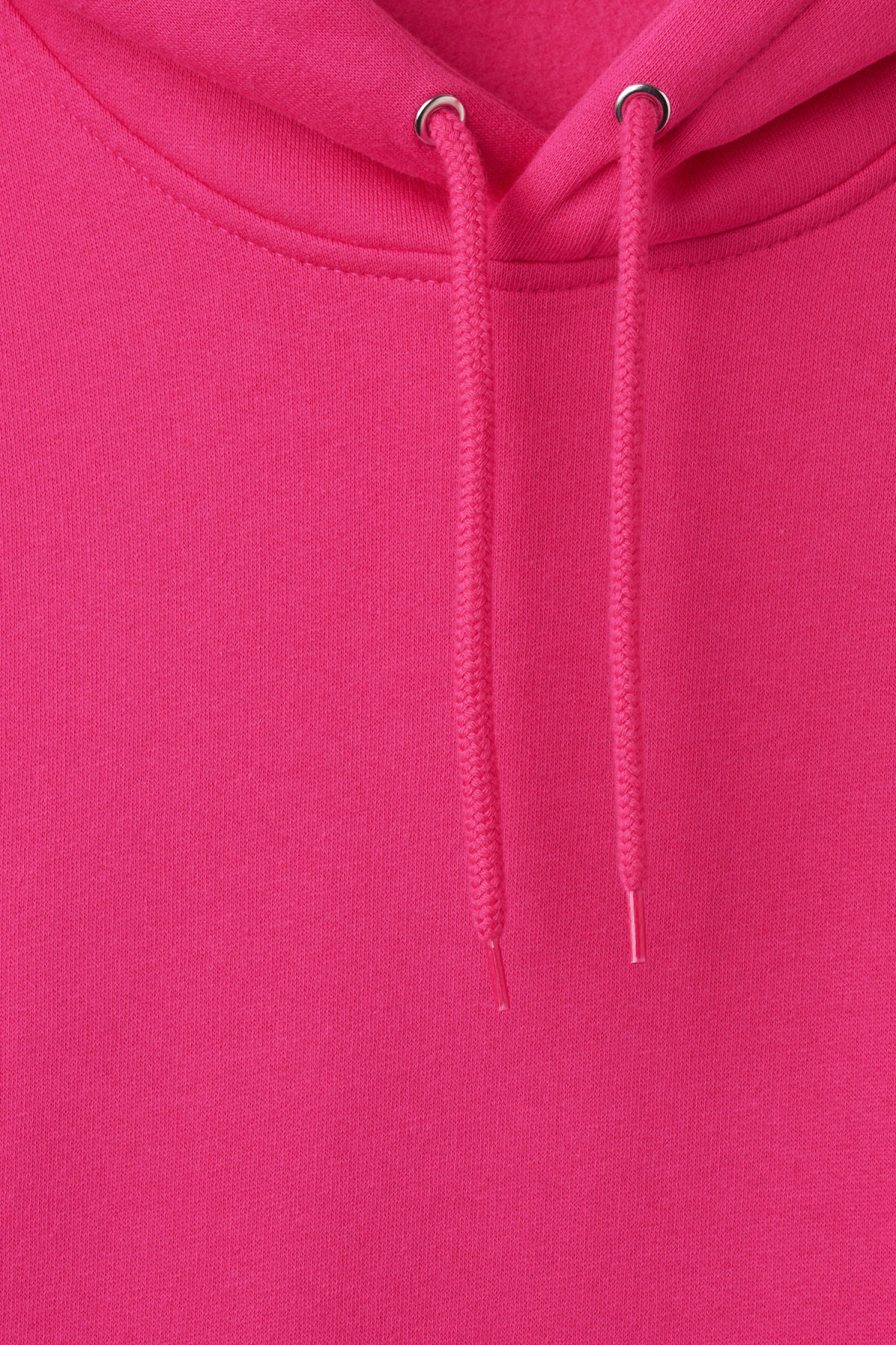 Detailed image of Weekday hawk hoodie in pink