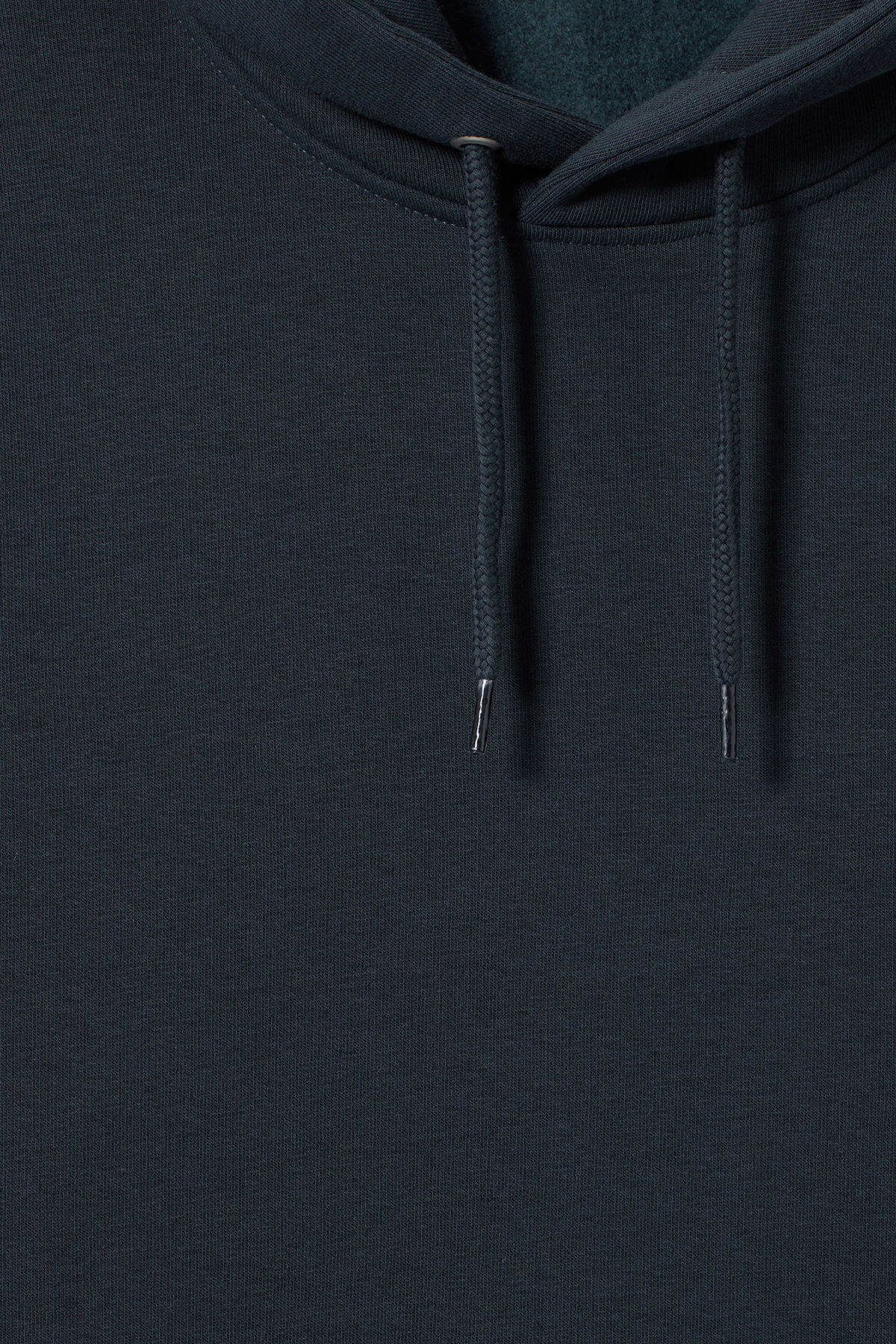 Detailed image of Weekday hawk hoodie in blue