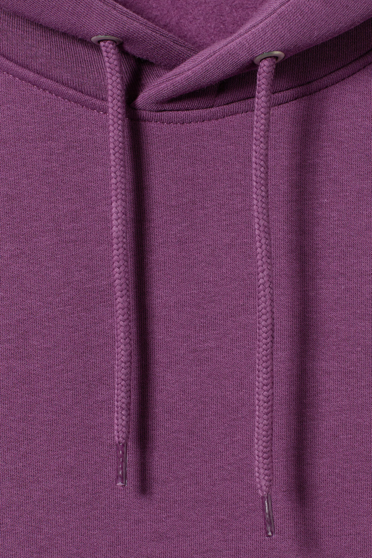 Detailed image of Weekday hawk hoodie in purple
