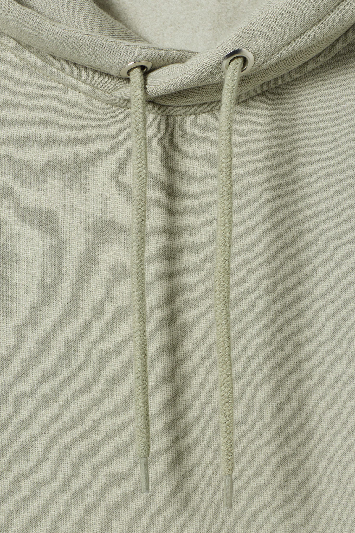 Detailed image of Weekday hawk hoodie in green