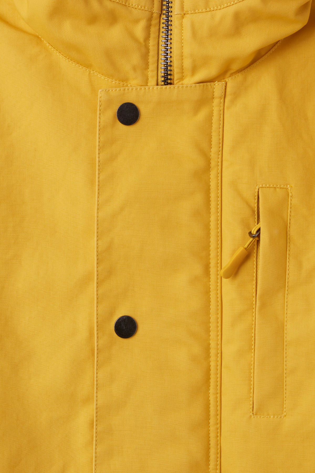 Detailed image of Weekday hepp parka in yellow