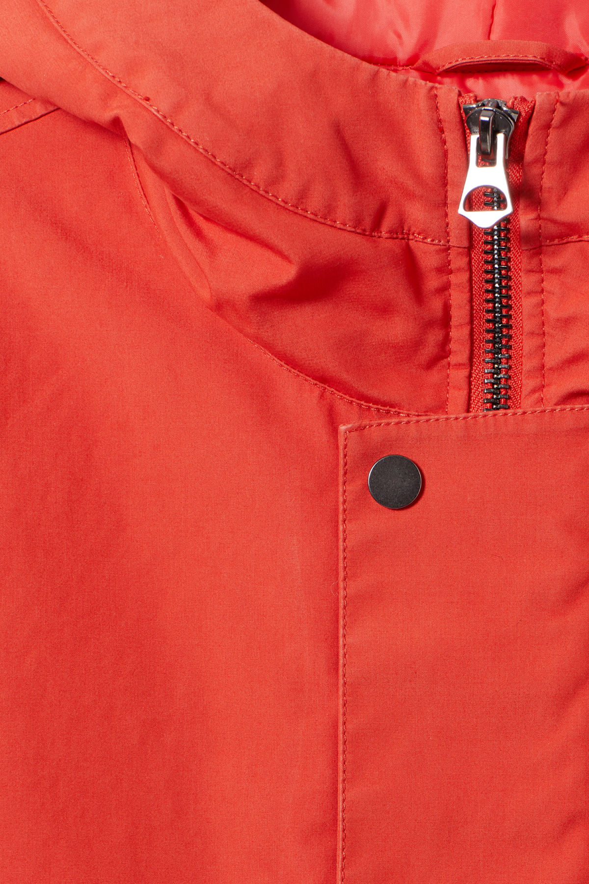 Detailed image of Weekday hepp parka in orange