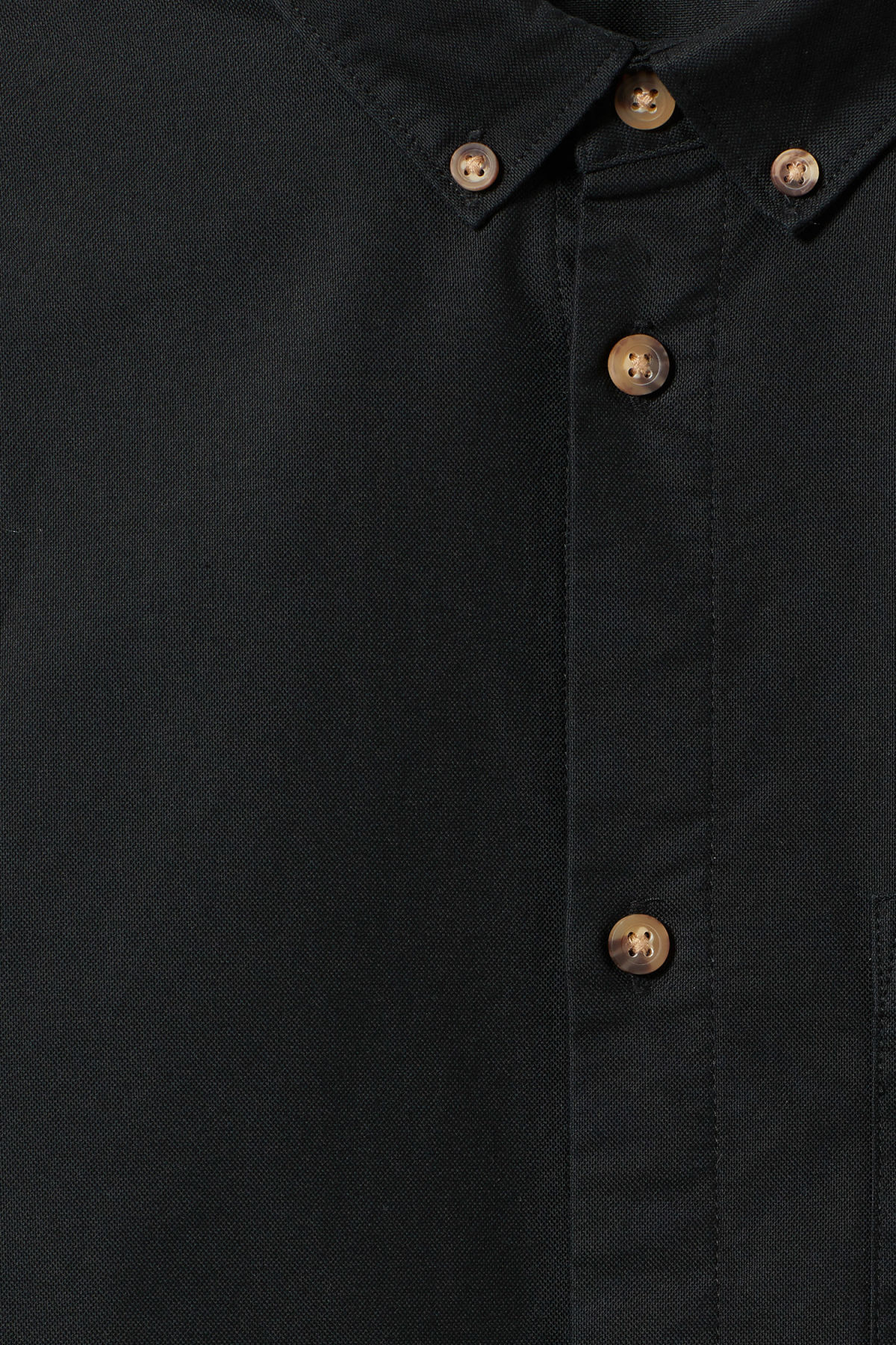 Detailed image of Weekday bad times shirt in black