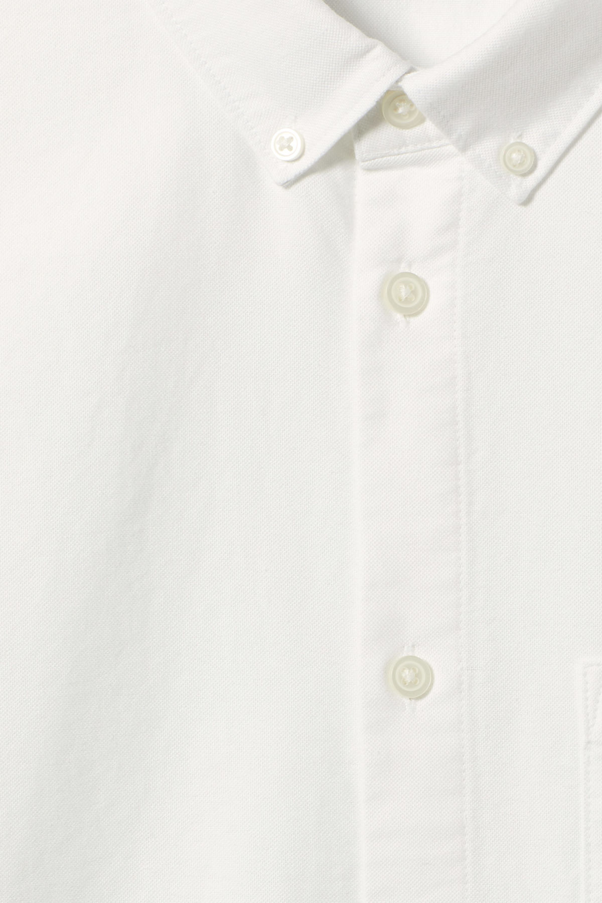 Detailed image of Weekday bad times shirt in white