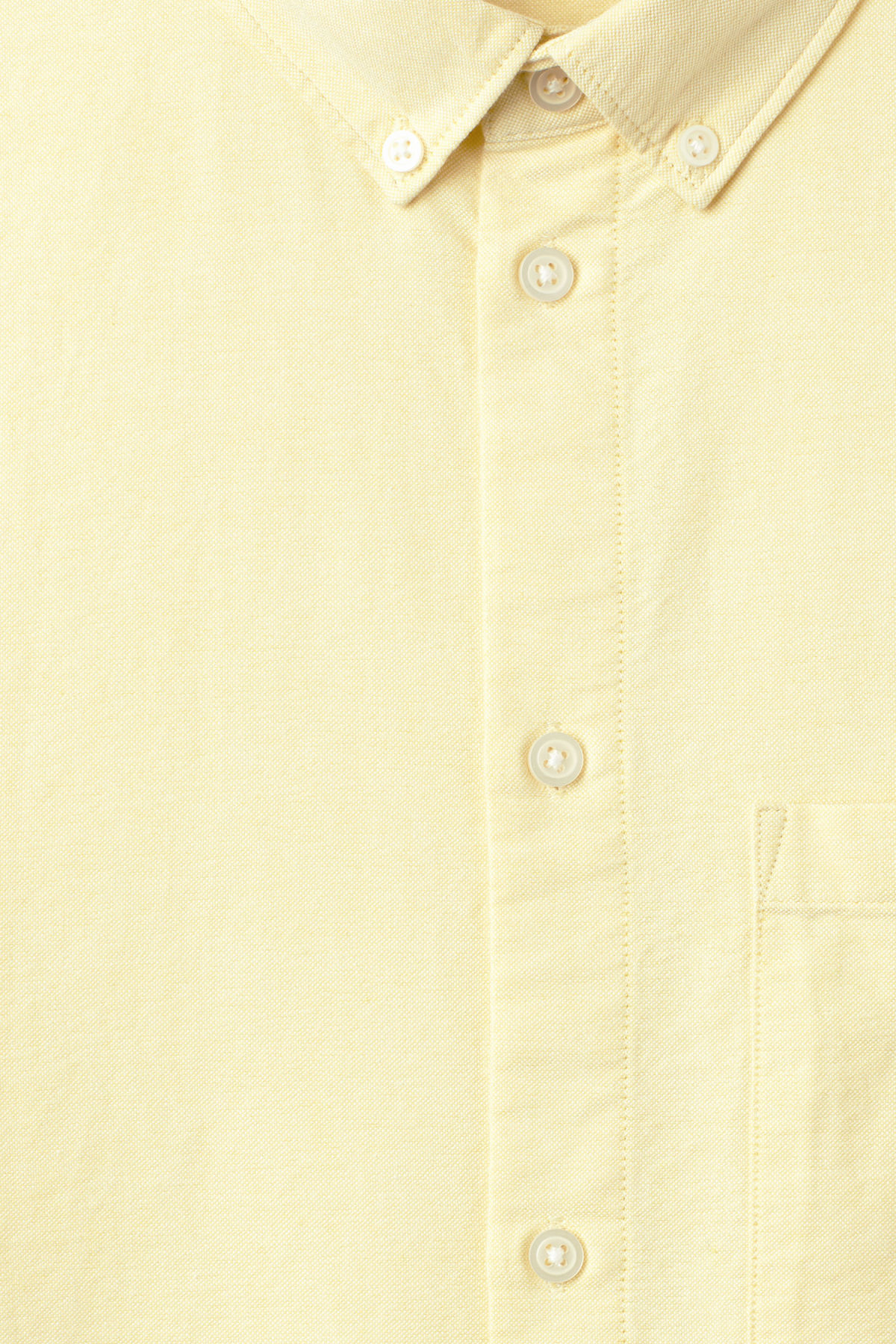 Detailed image of Weekday bad times shirt in yellow
