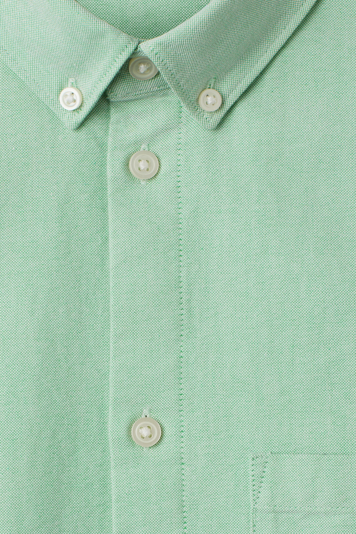Detailed image of Weekday bad times shirt in green