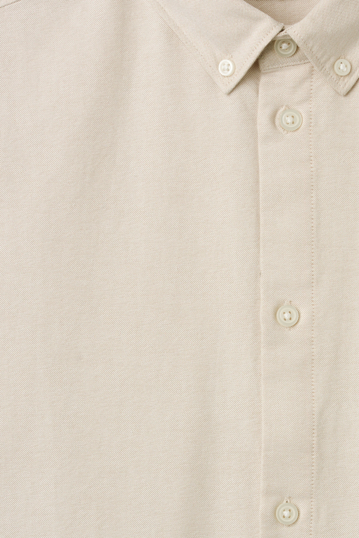 Detailed image of Weekday bad times shirt in beige