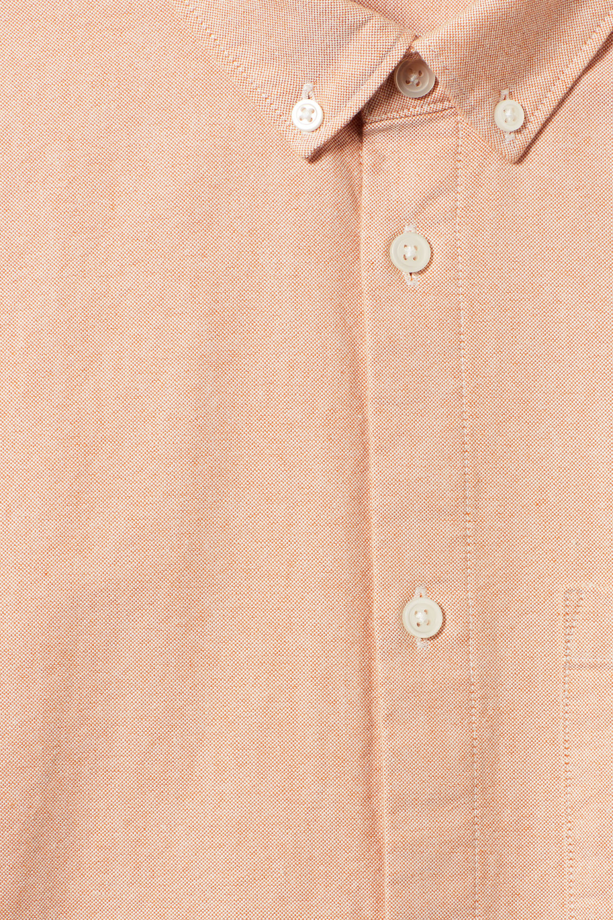 Detailed image of Weekday bad times shirt in orange