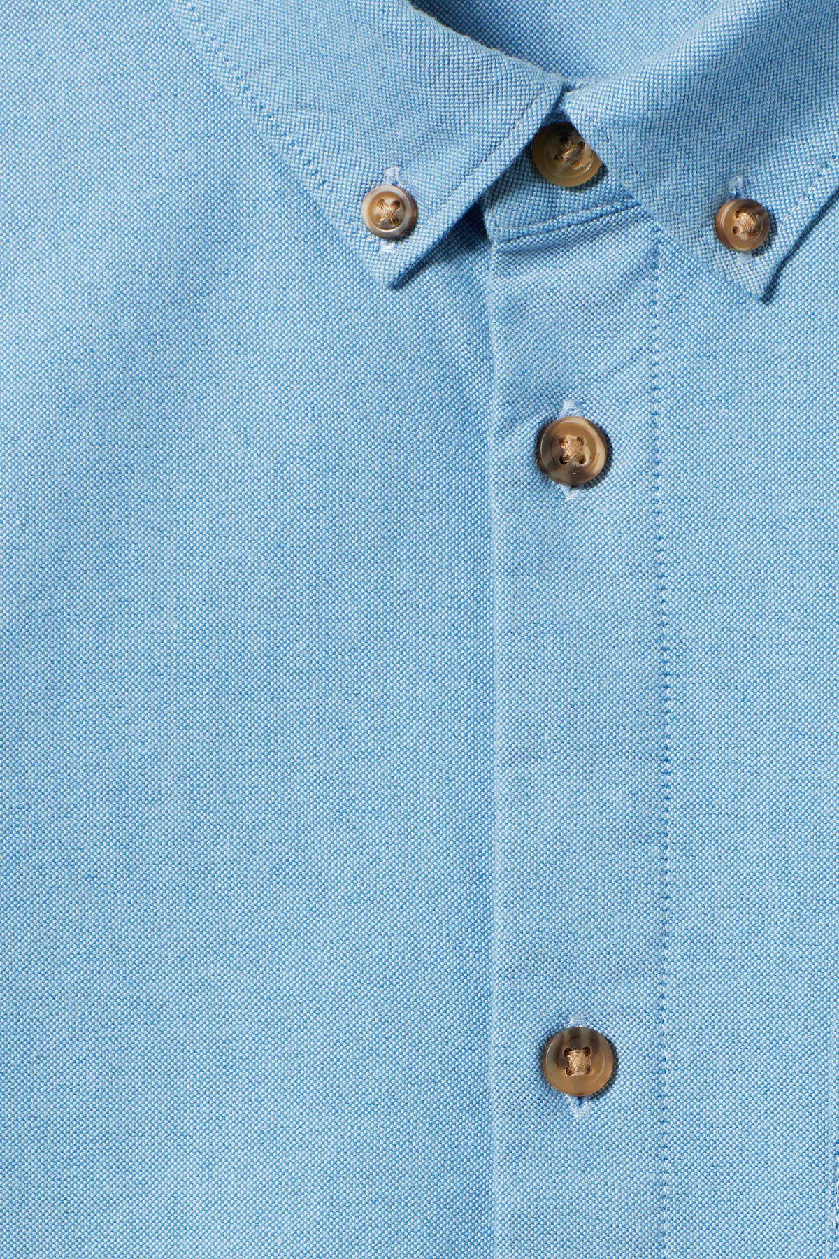Detailed image of Weekday bad times shirt in blue