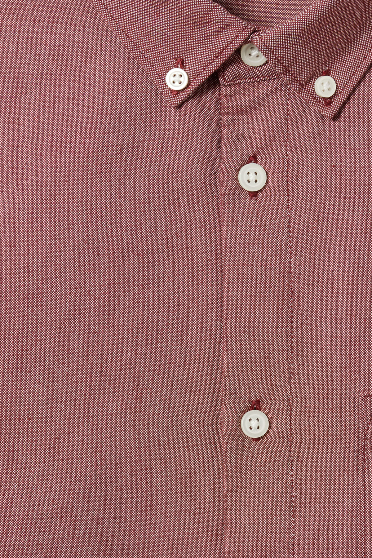 Detailed image of Weekday bad times shirt in red