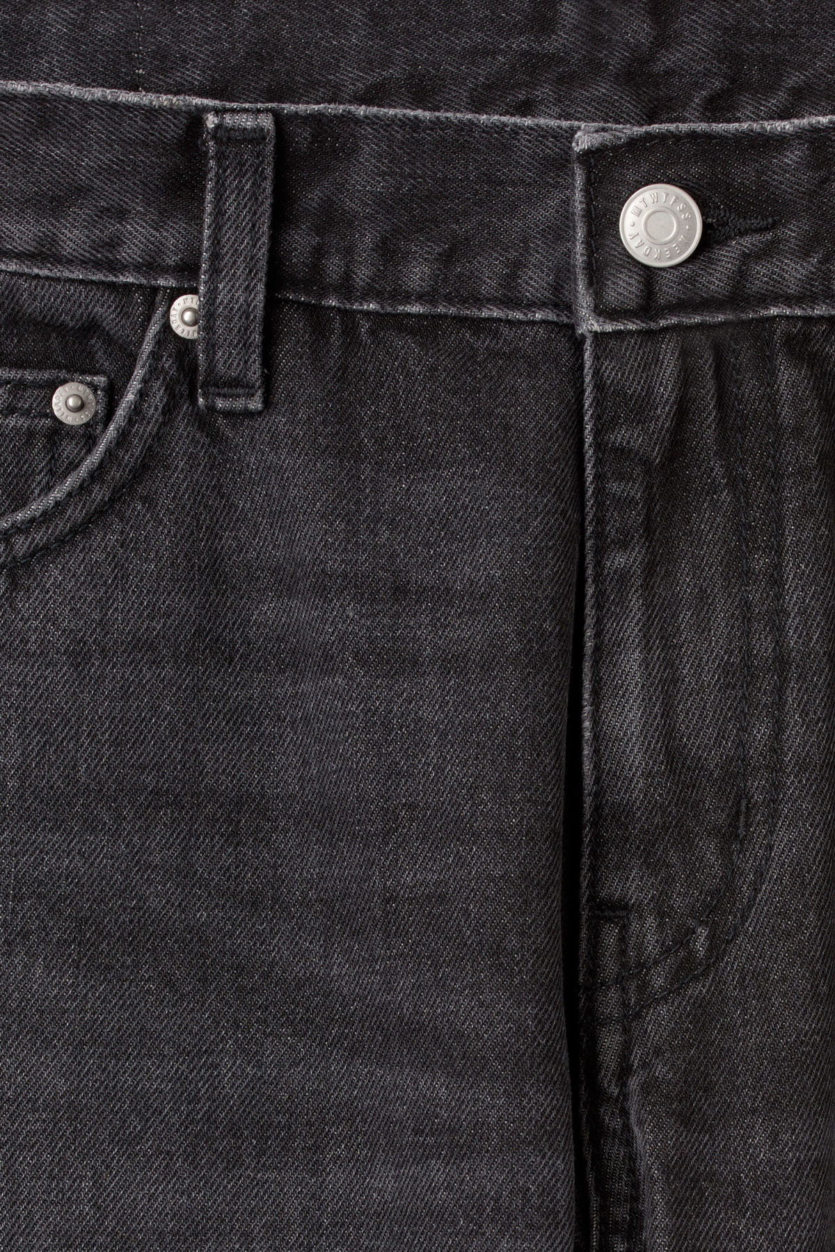 Detailed image of Weekday friday wow black jeans in black