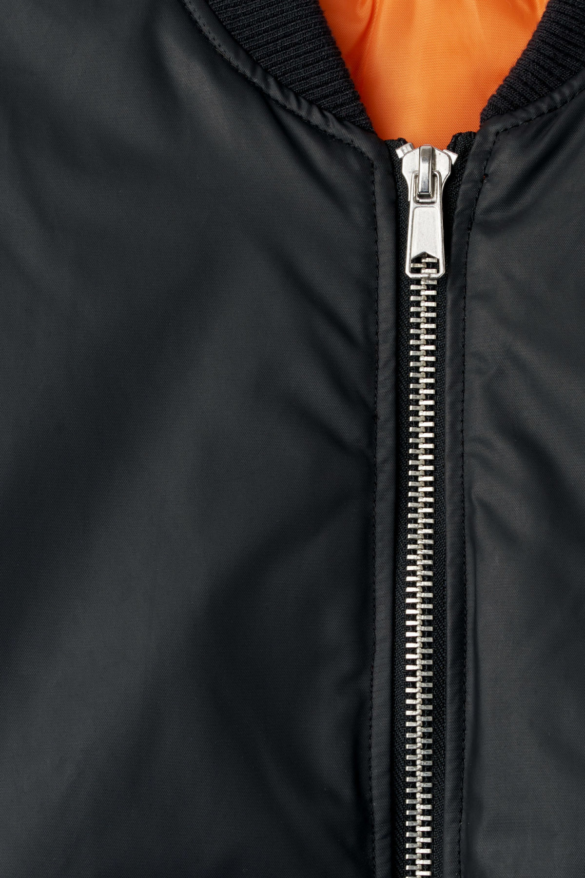 Detailed image of Weekday even bomber in black
