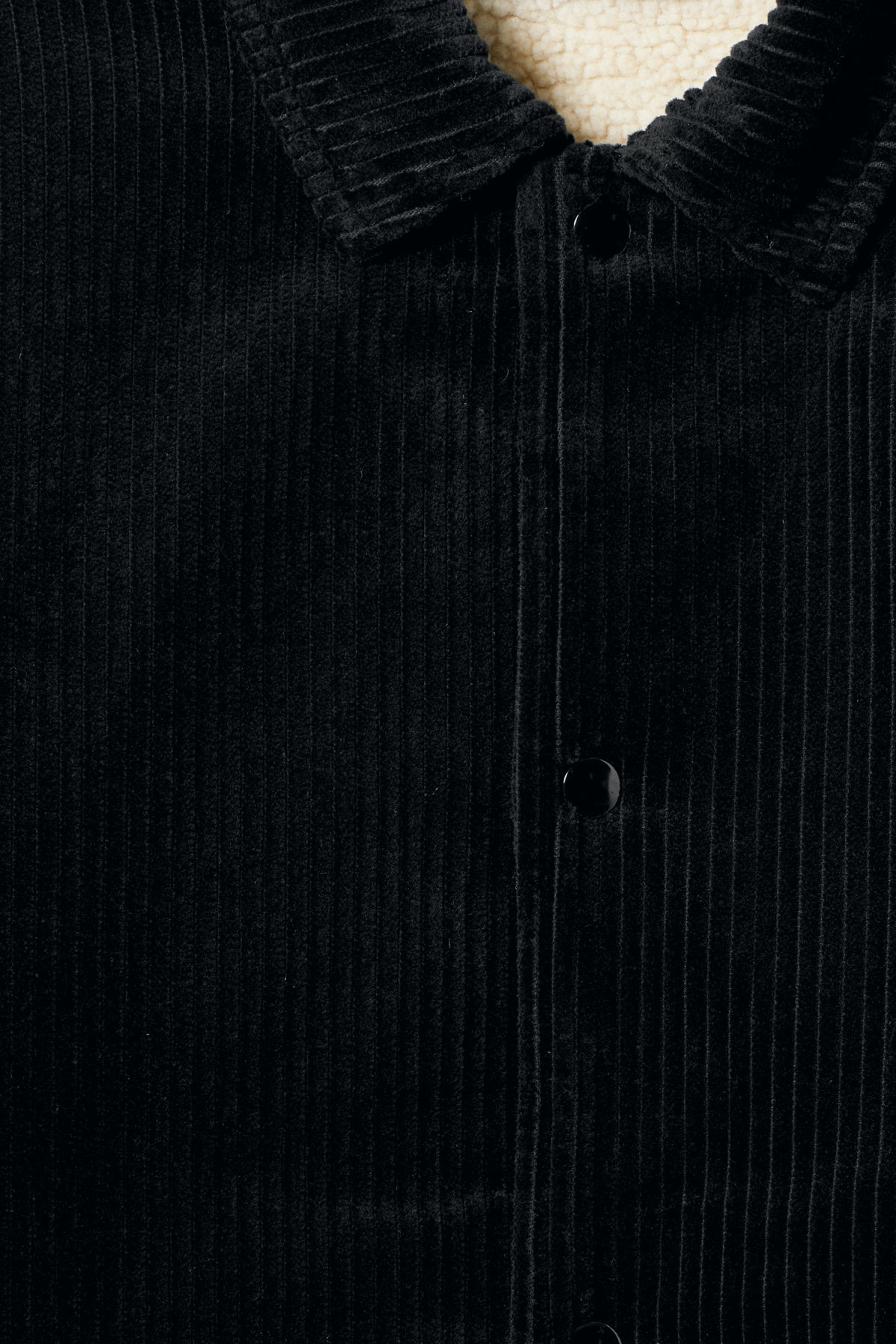 Detailed image of Weekday bob coach jacket  in black