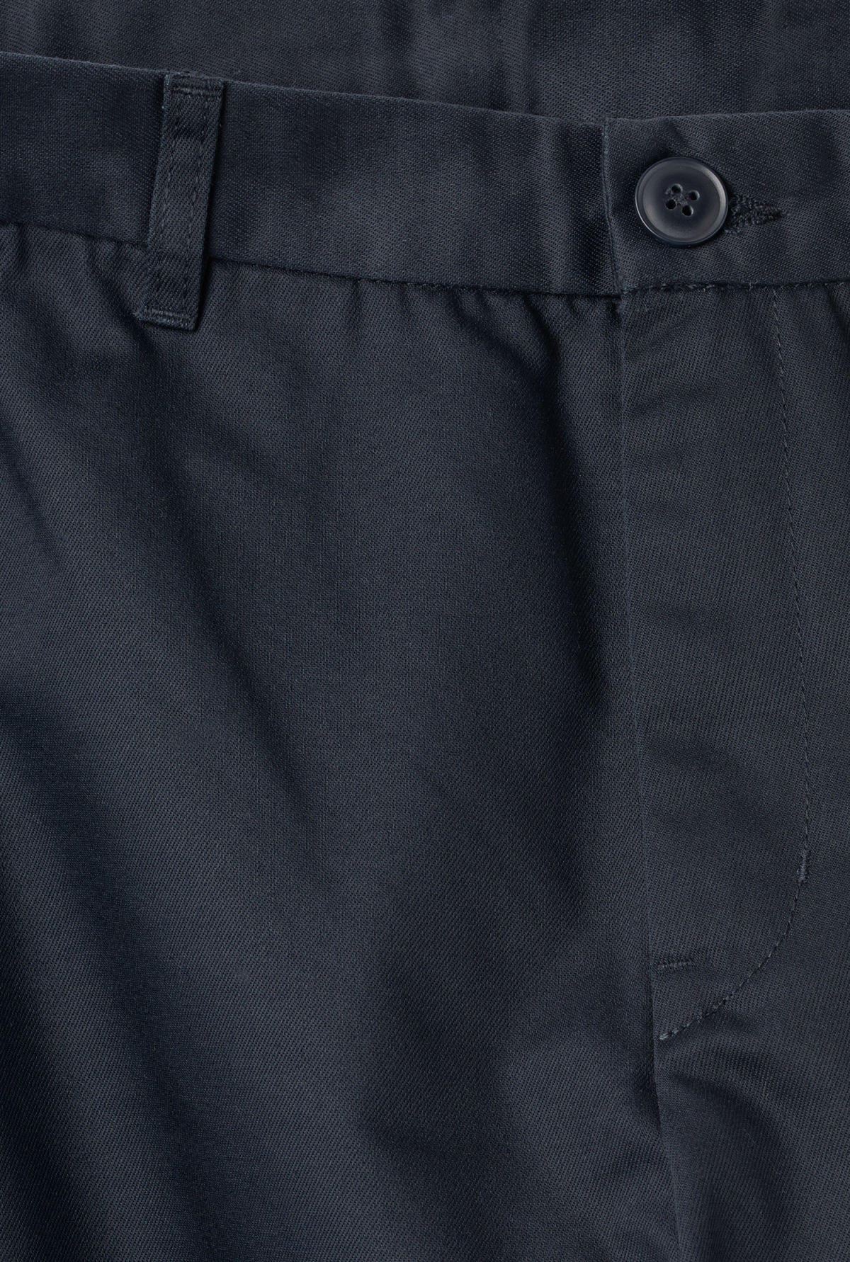 Detailed image of Weekday forest chinos in blue