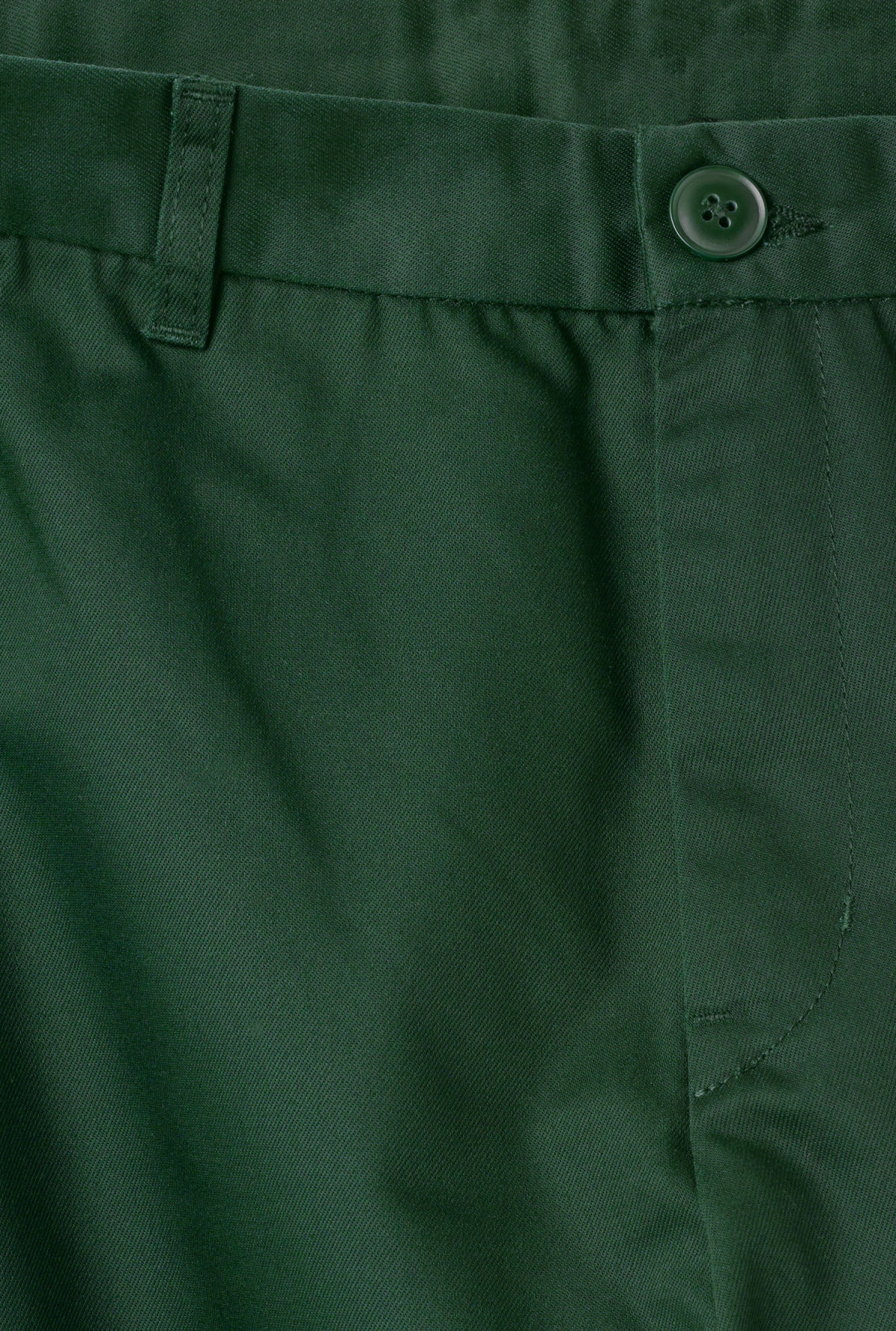 Detailed image of Weekday forest chinos in green
