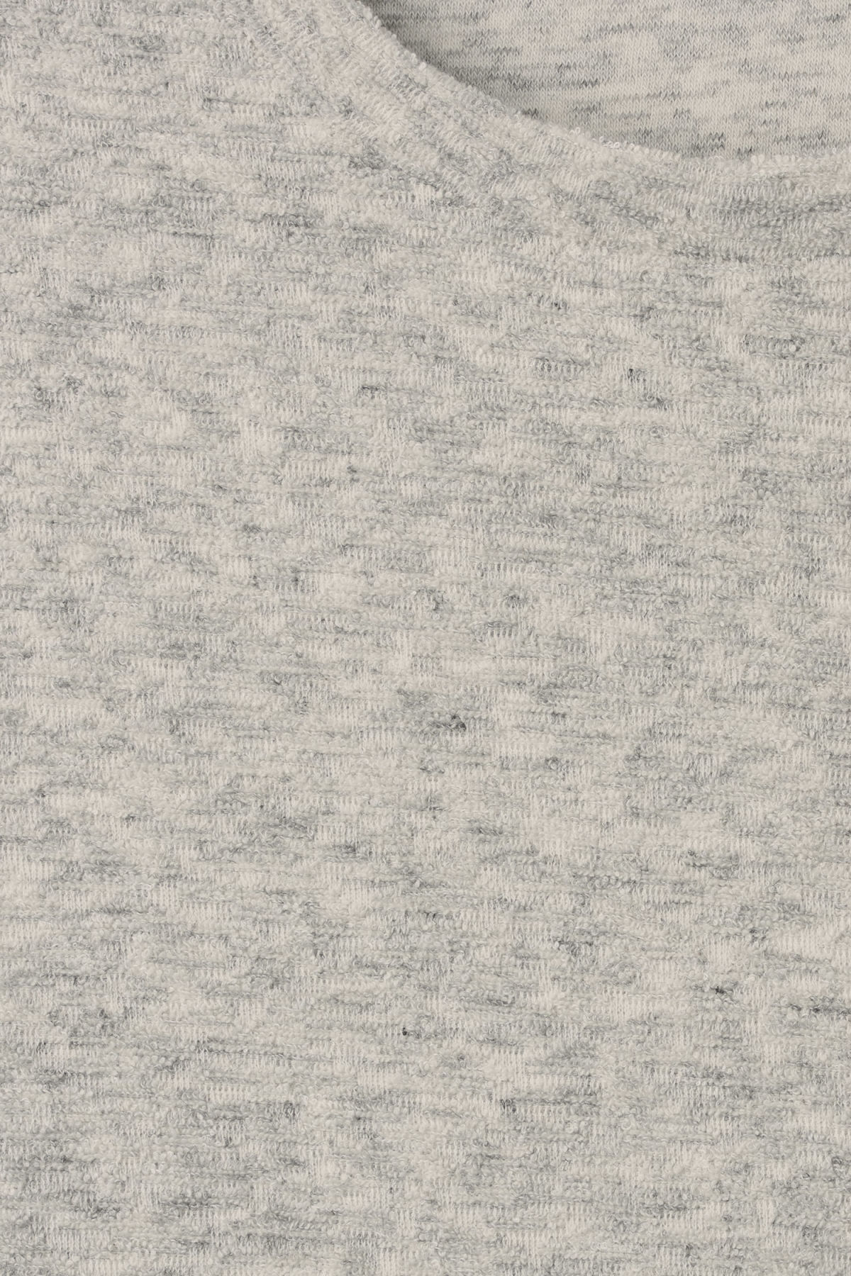 Detailed image of Weekday towel long sleeve in grey