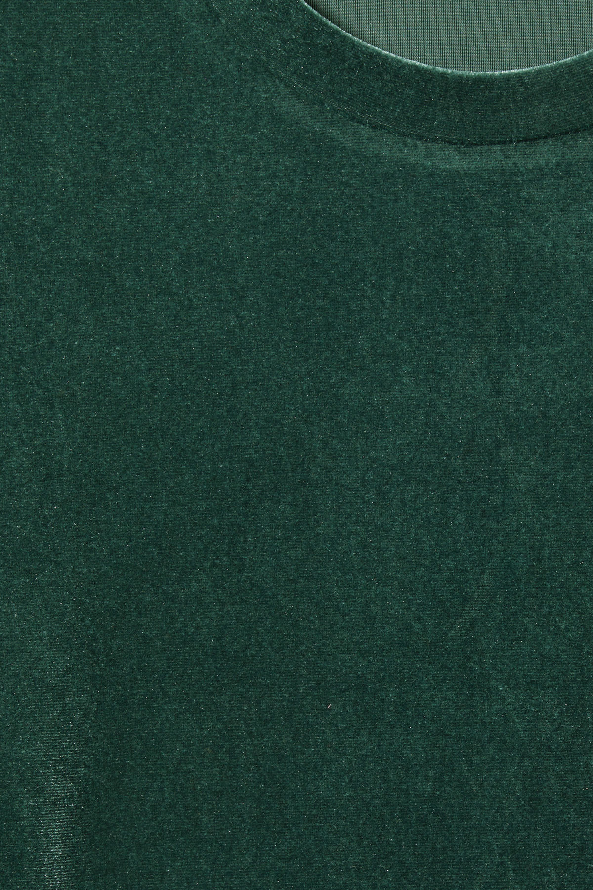 Detailed image of Weekday fray dress in green