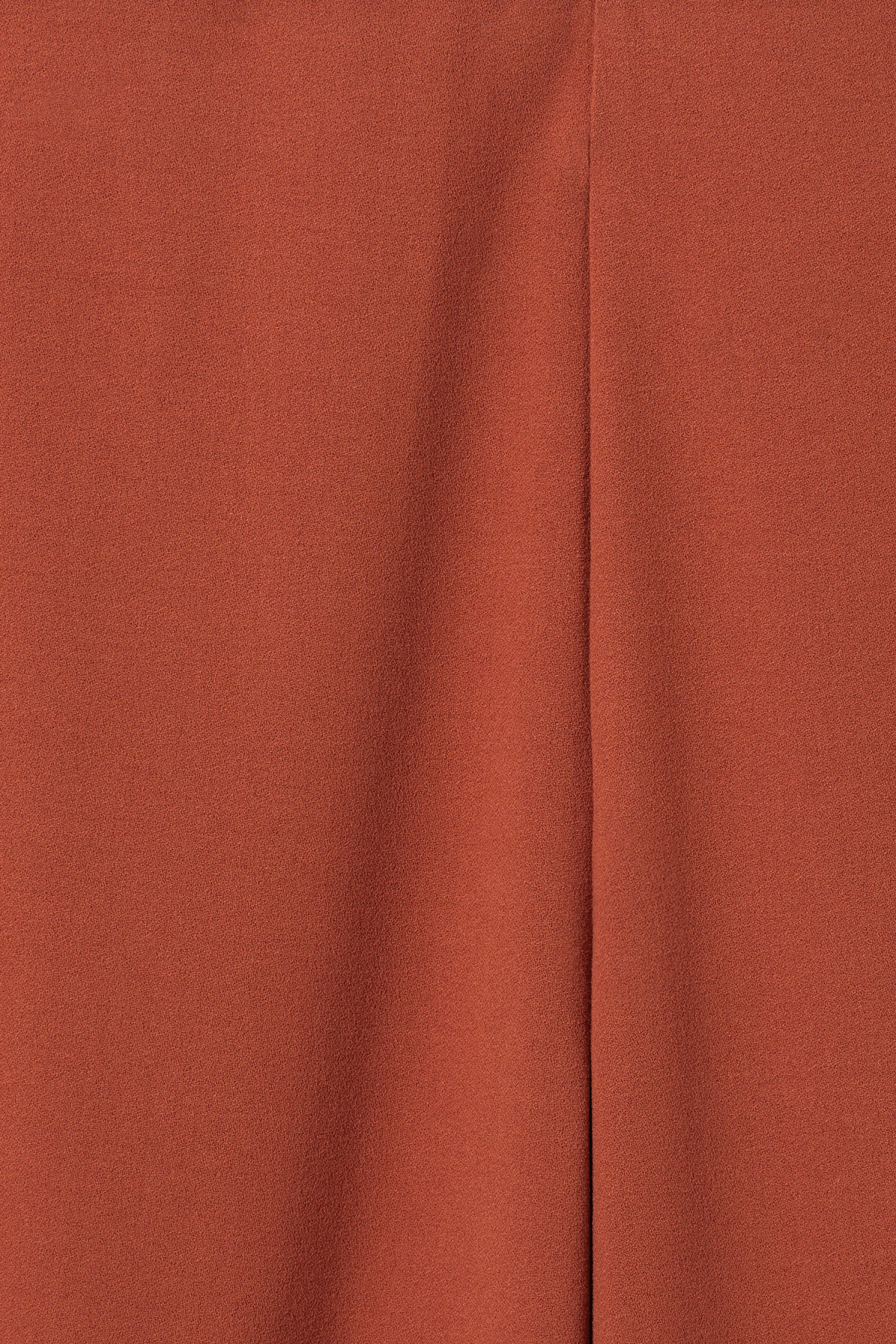 Detailed image of Weekday julia trousers  in orange