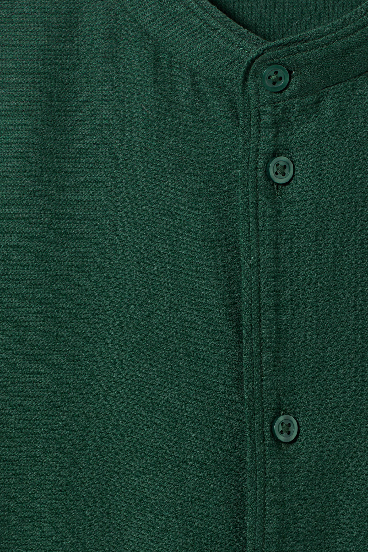 Detailed image of Weekday hunt shirt in green