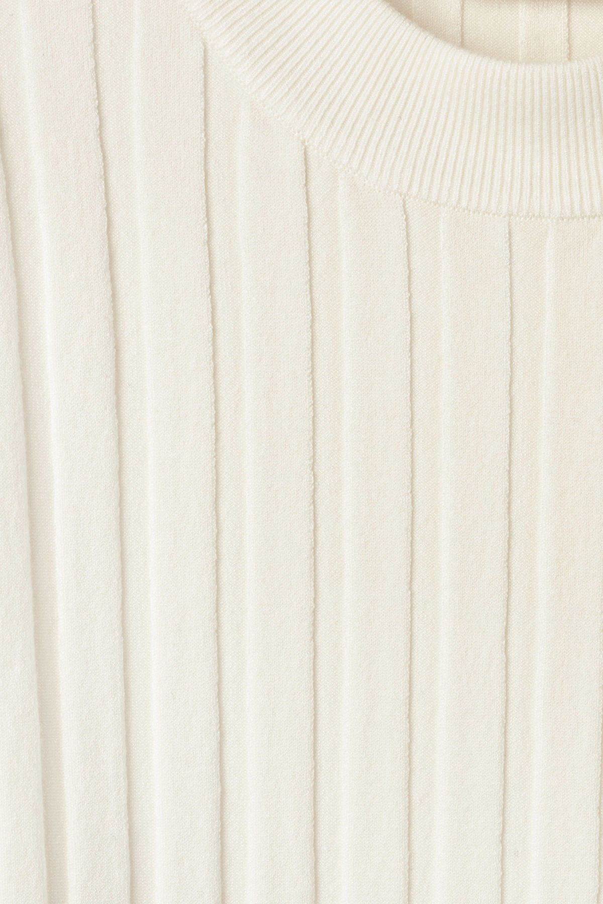 Detailed image of Weekday turl sweater in white